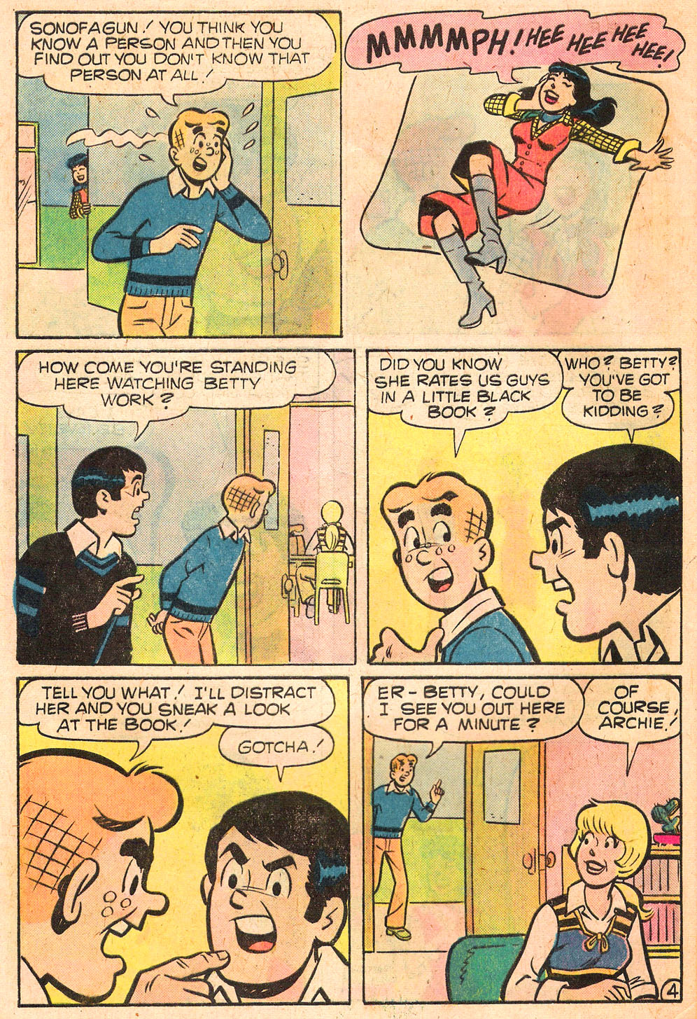 Read online Archie's Girls Betty and Veronica comic -  Issue #258 - 32