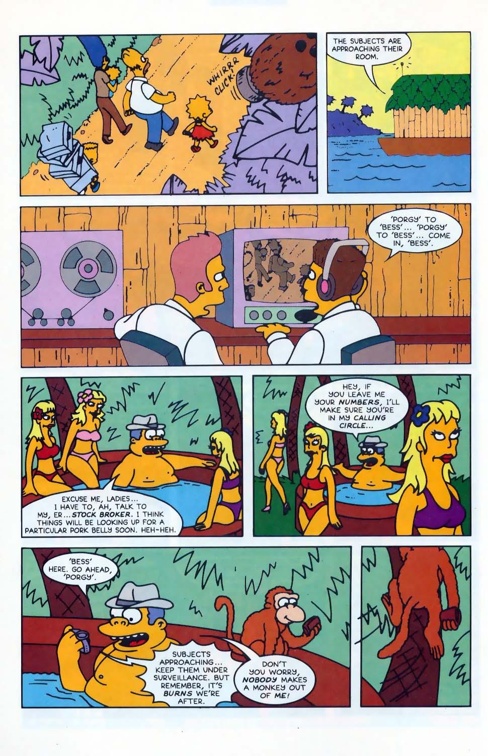 Read online Simpsons Comics comic -  Issue #10 - 11