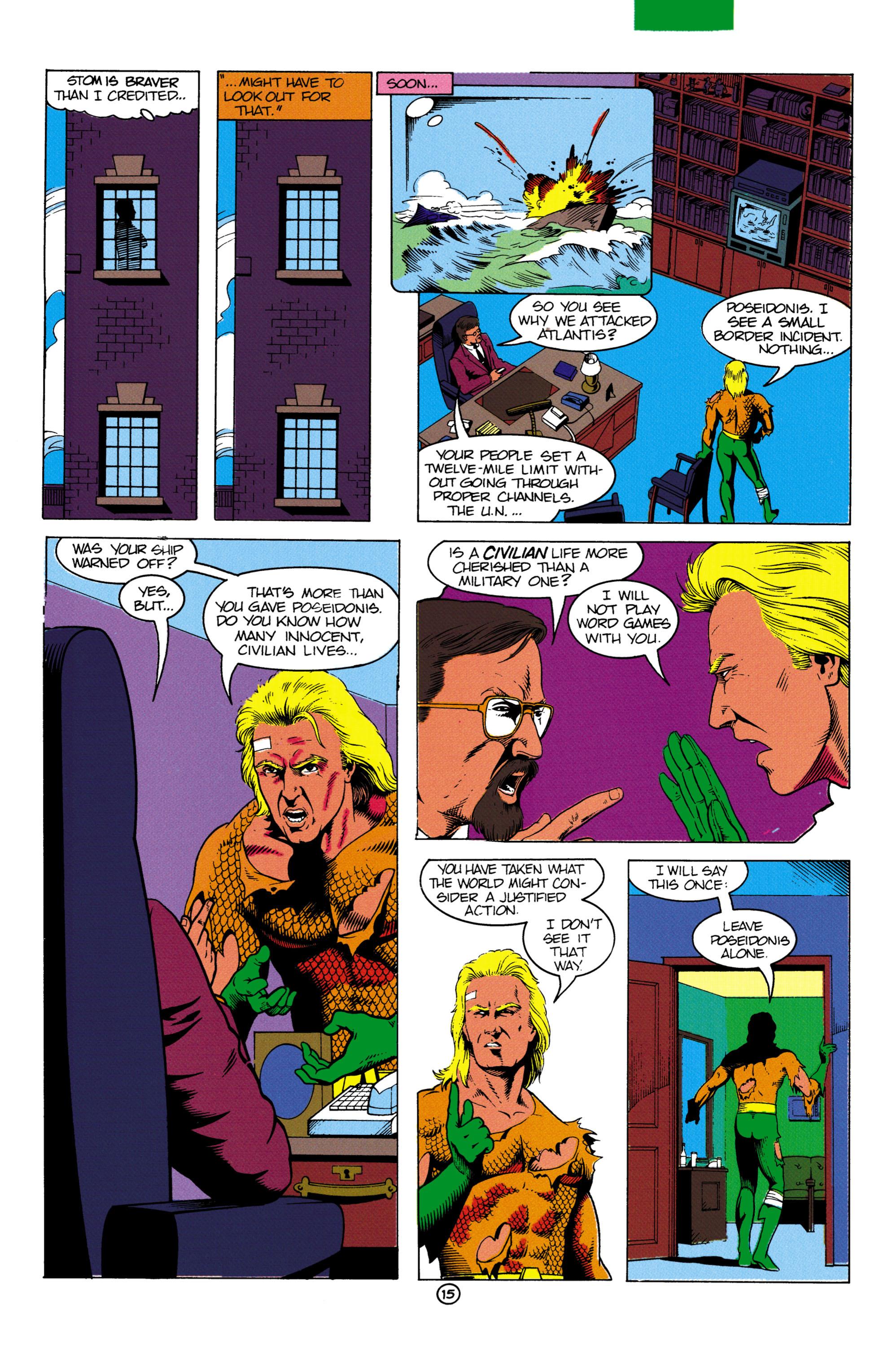 Read online Aquaman (1991) comic -  Issue #2 - 16