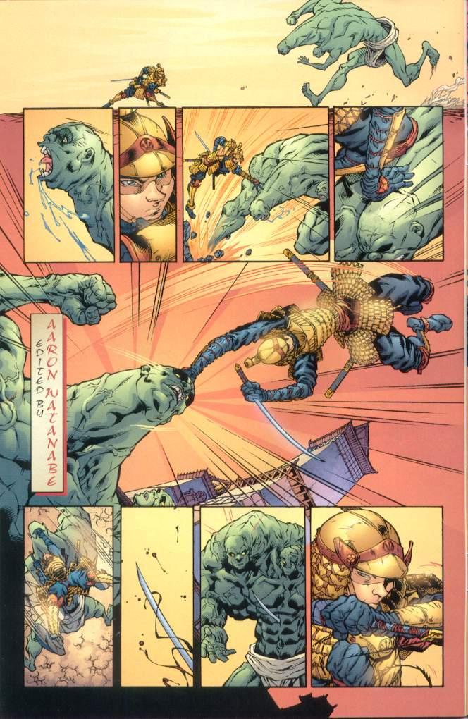 Read online Ninja Boy comic -  Issue #1 - 5