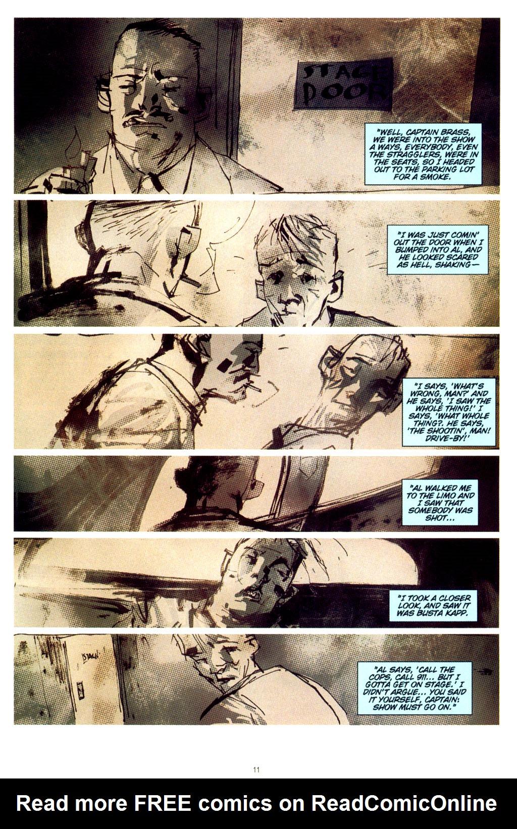 Read online CSI: Crime Scene Investigation: Bad Rap comic -  Issue #2 - 12