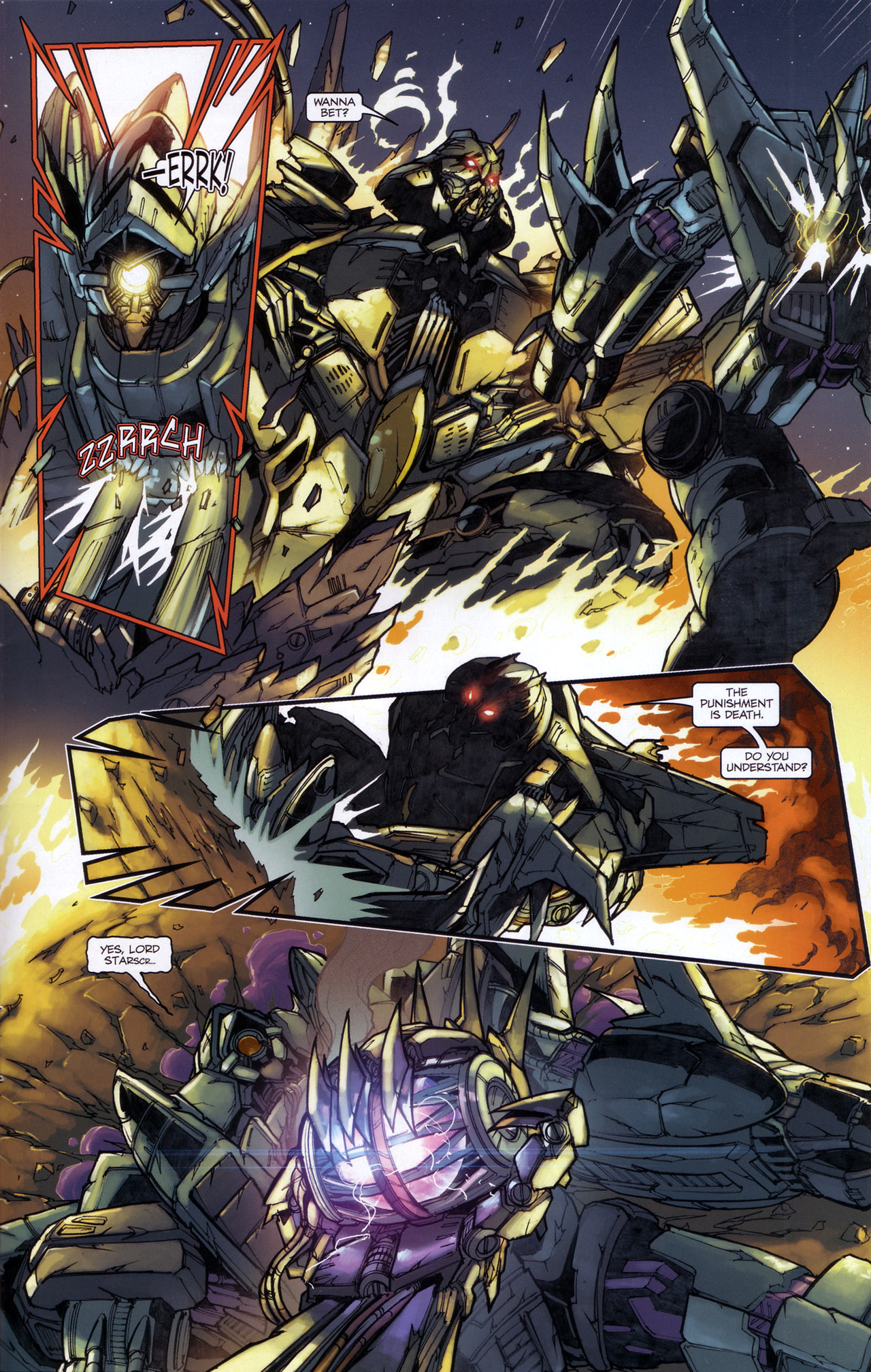 Read online Transformers: The Reign of Starscream comic -  Issue #5 - 24