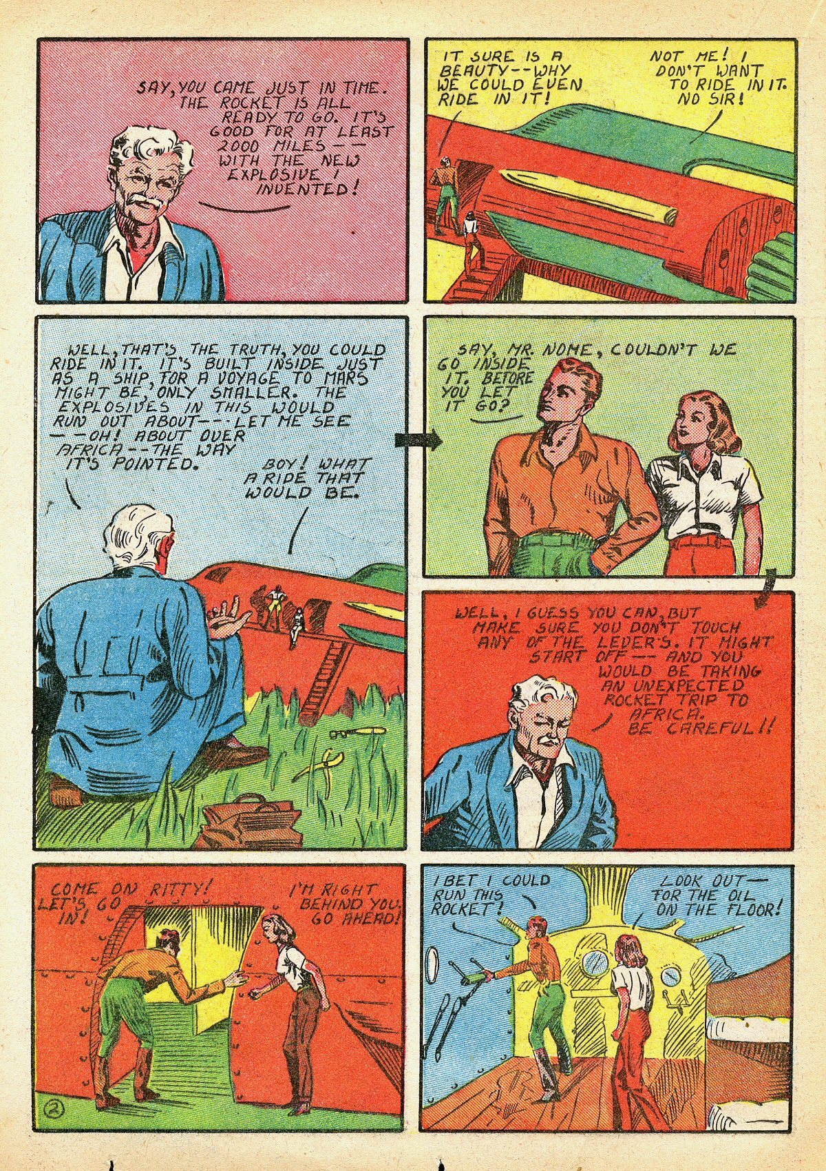 Read online Amazing Man Comics comic -  Issue #10 - 39