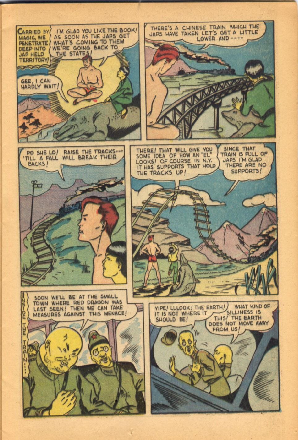 Read online Super-Magician Comics comic -  Issue #38 - 21