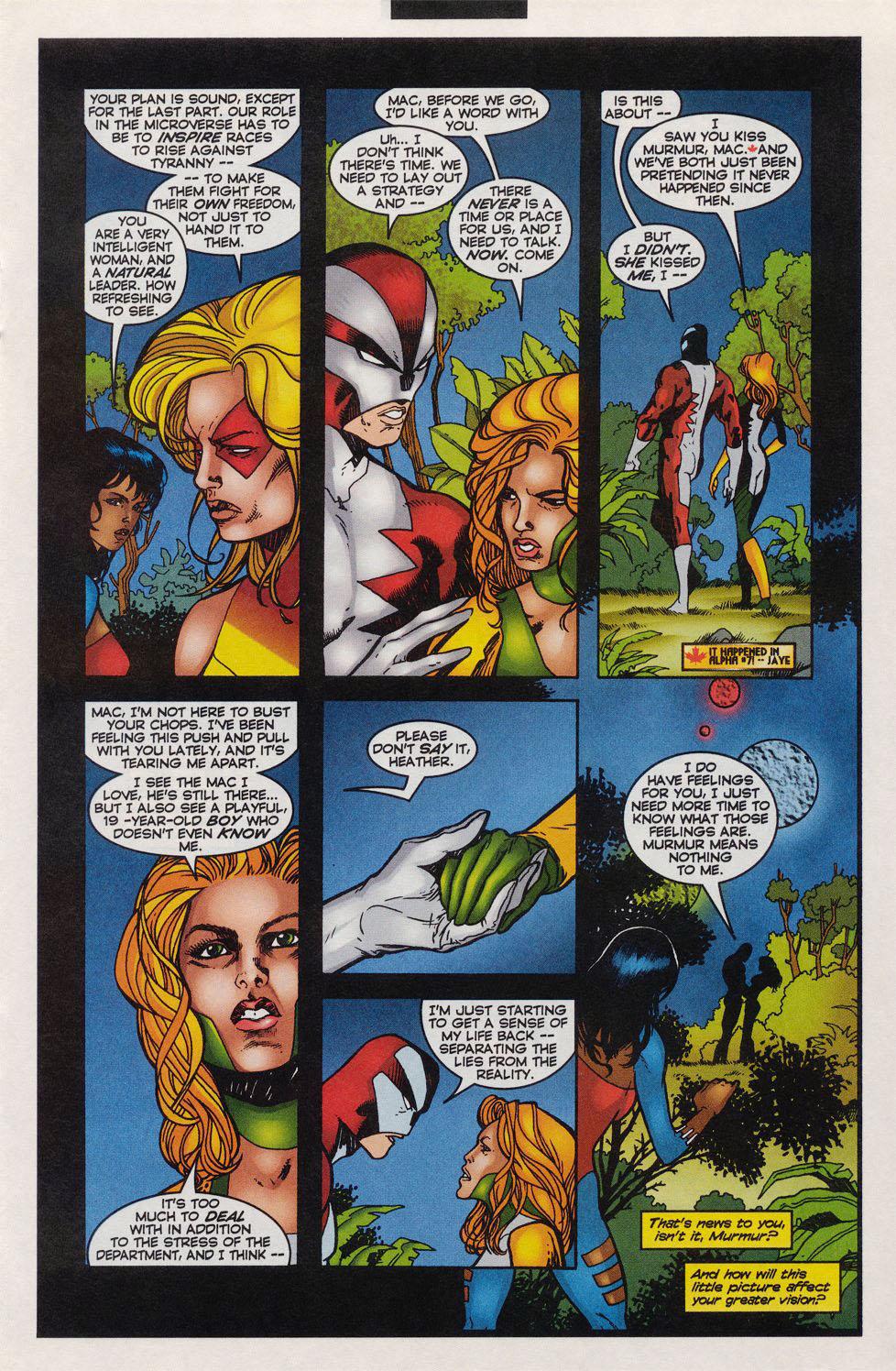Read online Alpha Flight (1997) comic -  Issue #11 - 10