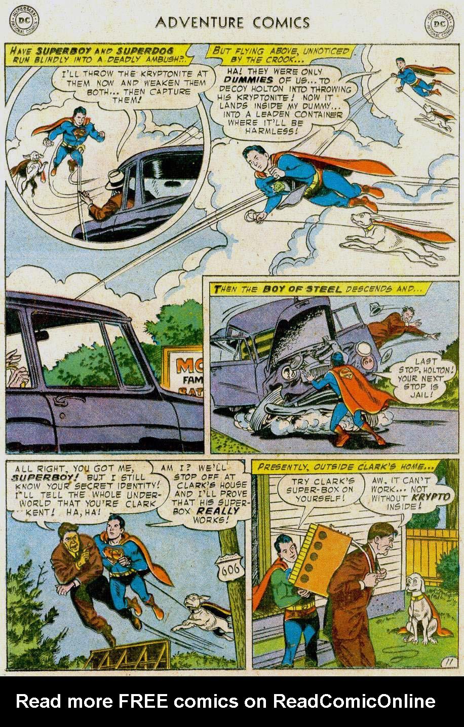 Read online Adventure Comics (1938) comic -  Issue #241 - 13