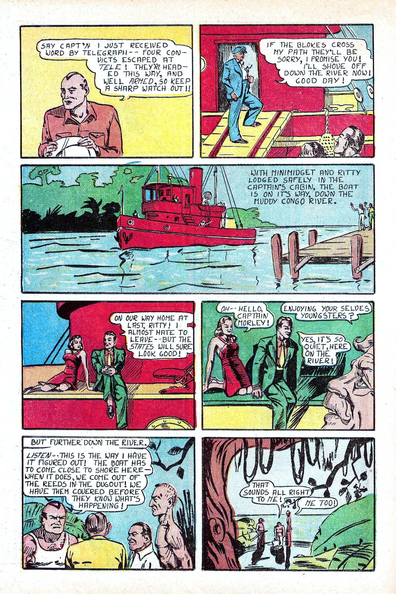 Read online Amazing Man Comics comic -  Issue #11 - 30