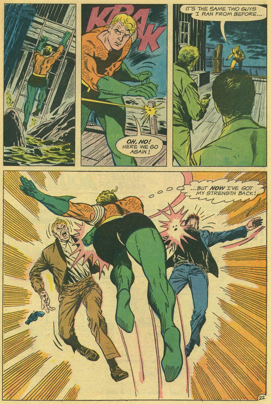 Read online Aquaman (1962) comic -  Issue #44 - 31
