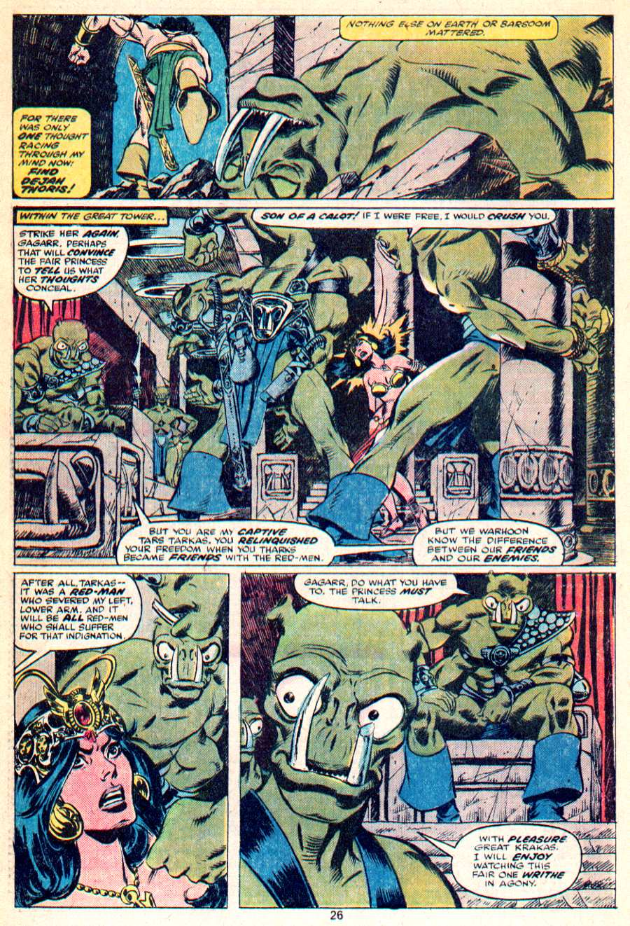 John Carter Warlord of Mars issue 1 - Page 14