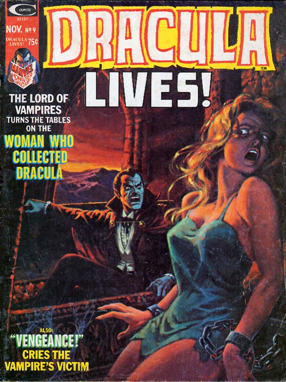 Dracula Lives 9 Page 1