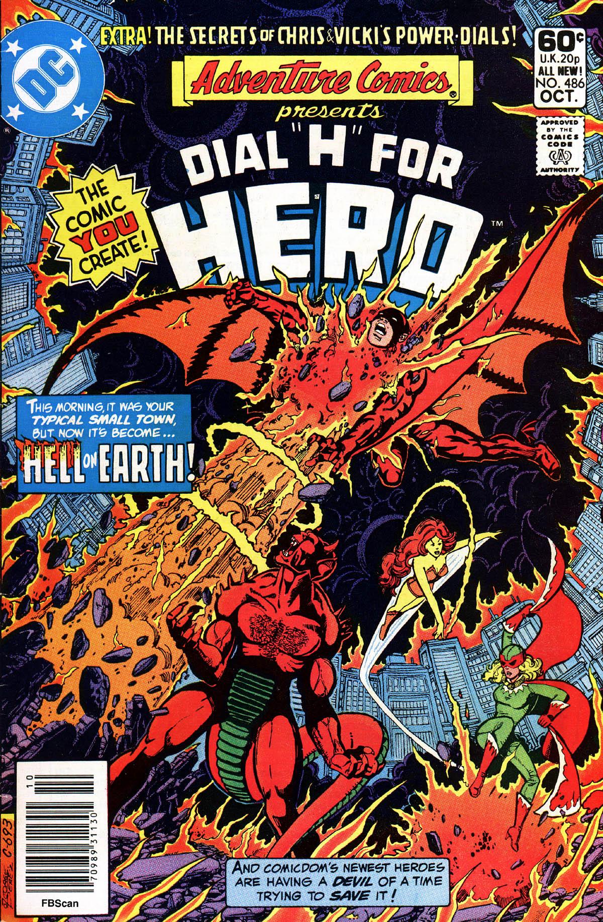 Read online Adventure Comics (1938) comic -  Issue #486 - 1