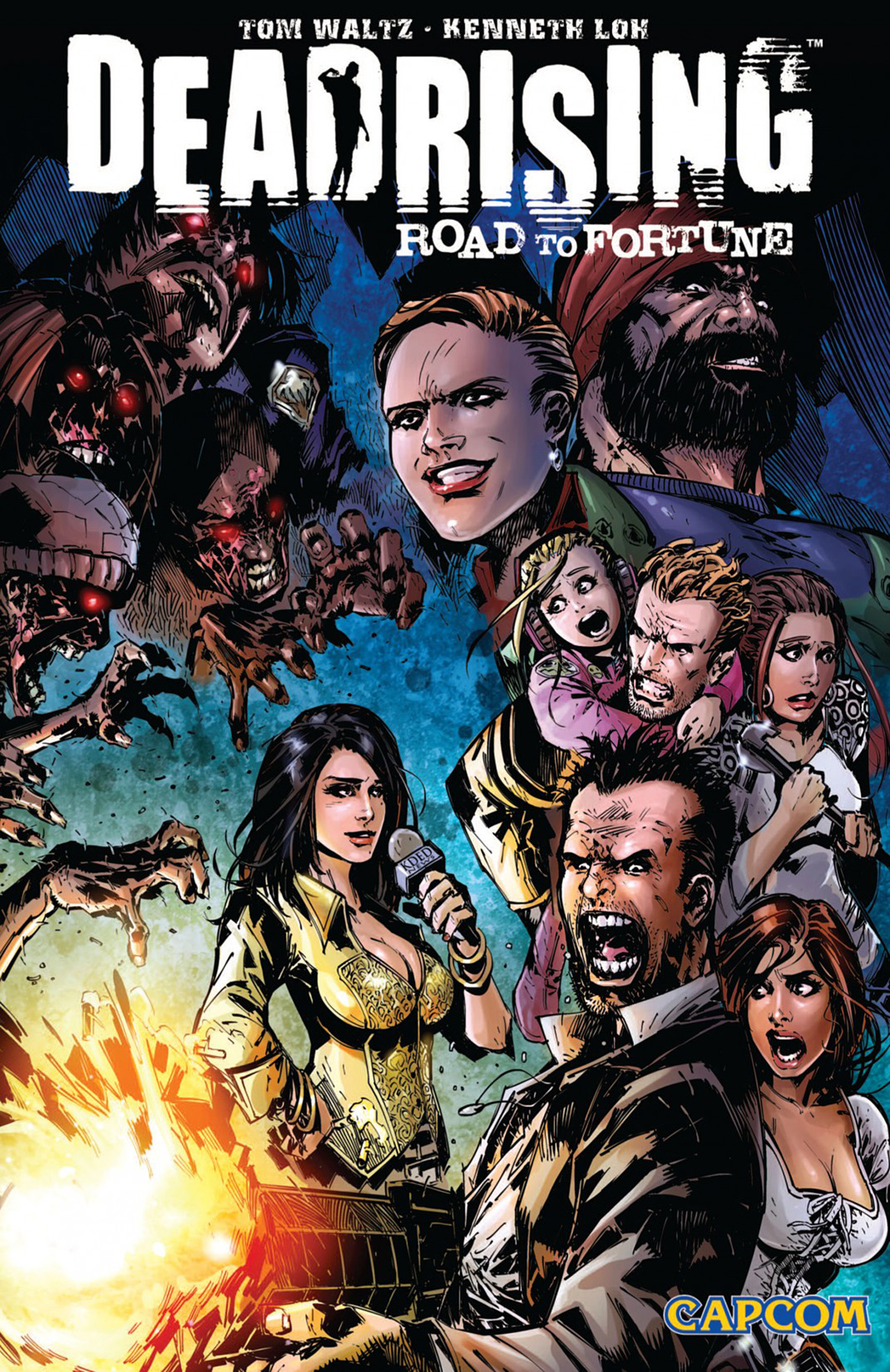 Read online Dead Rising: Road to Fortune comic -  Issue # TPB - 1
