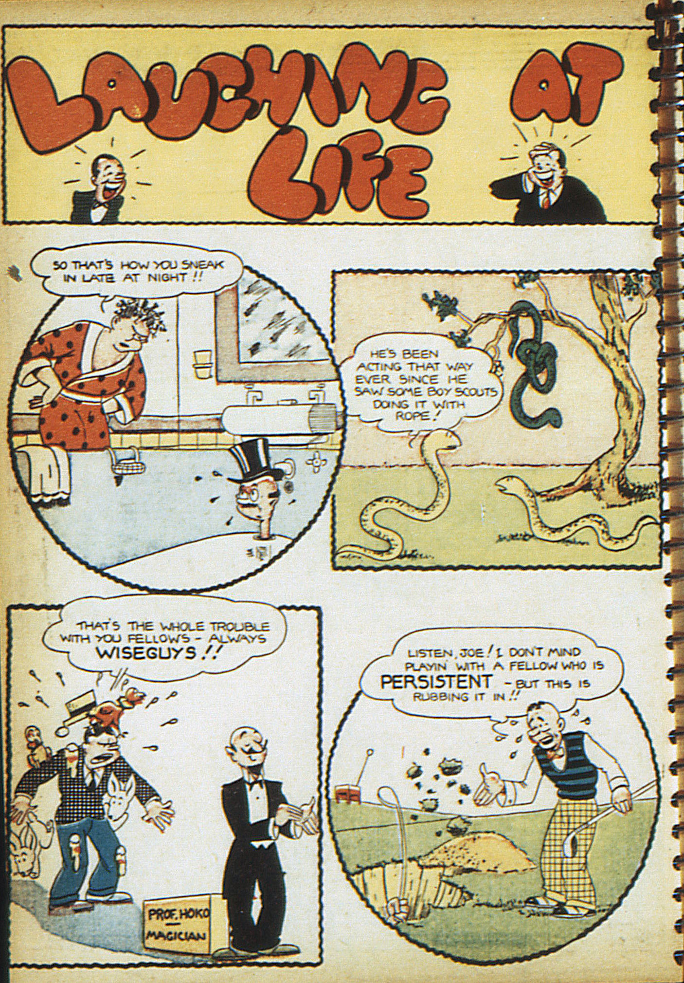 Read online Adventure Comics (1938) comic -  Issue #18 - 35