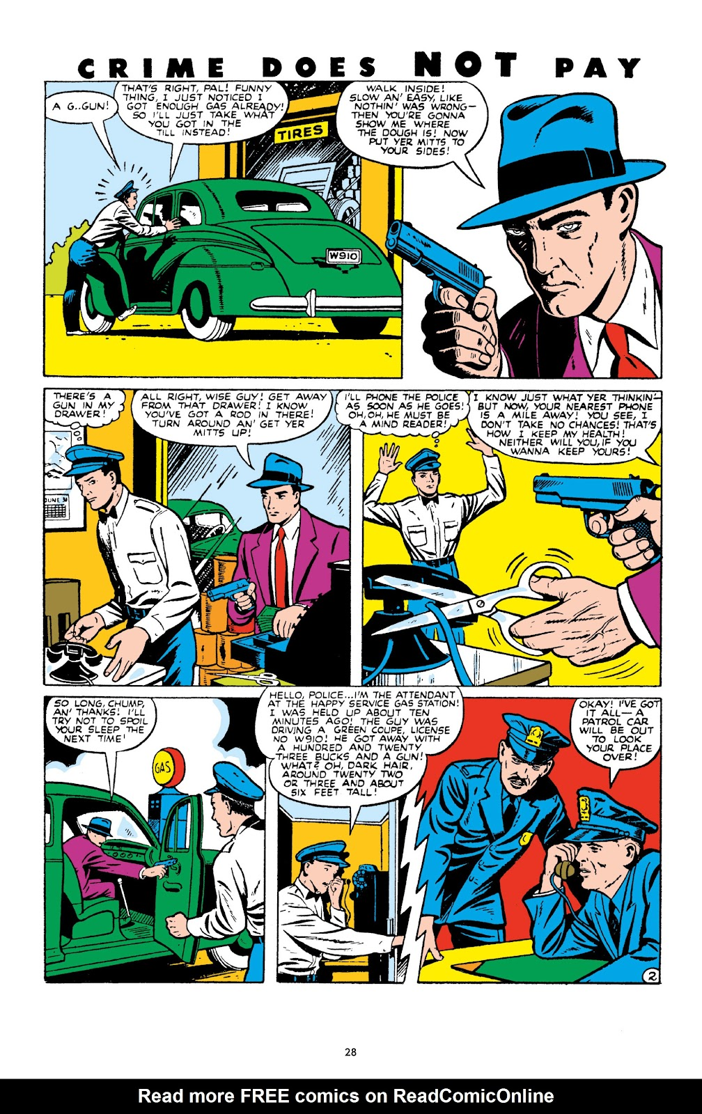 Read online Crime Does Not Pay Archives comic -  Issue # TPB 10 (Part 1) - 30