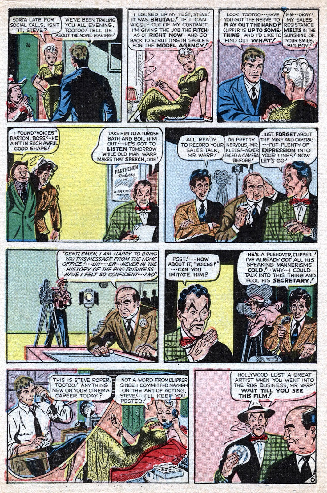 Read online Famous Funnies comic -  Issue #184 - 14