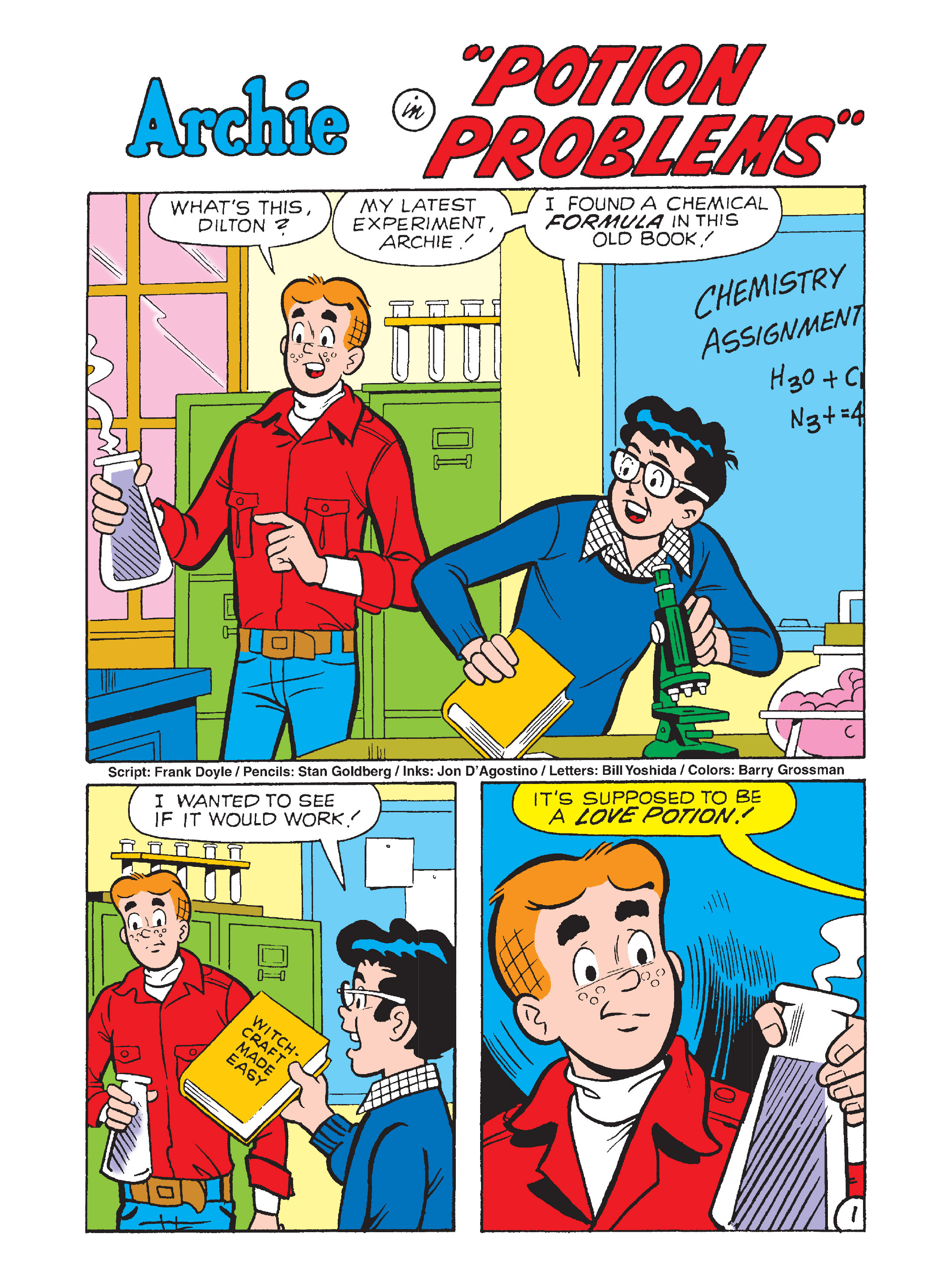 Read online Archie's Funhouse Double Digest comic -  Issue #12 - 13