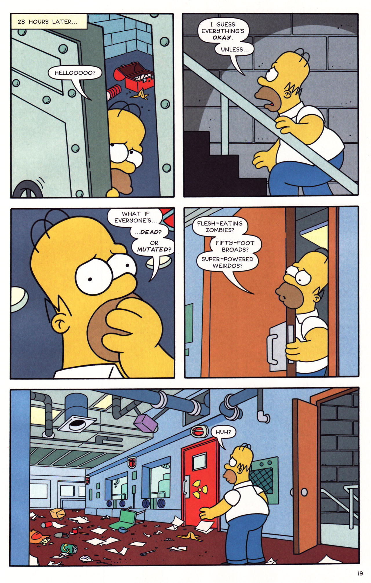 Read online Simpsons Comics comic -  Issue #137 - 16