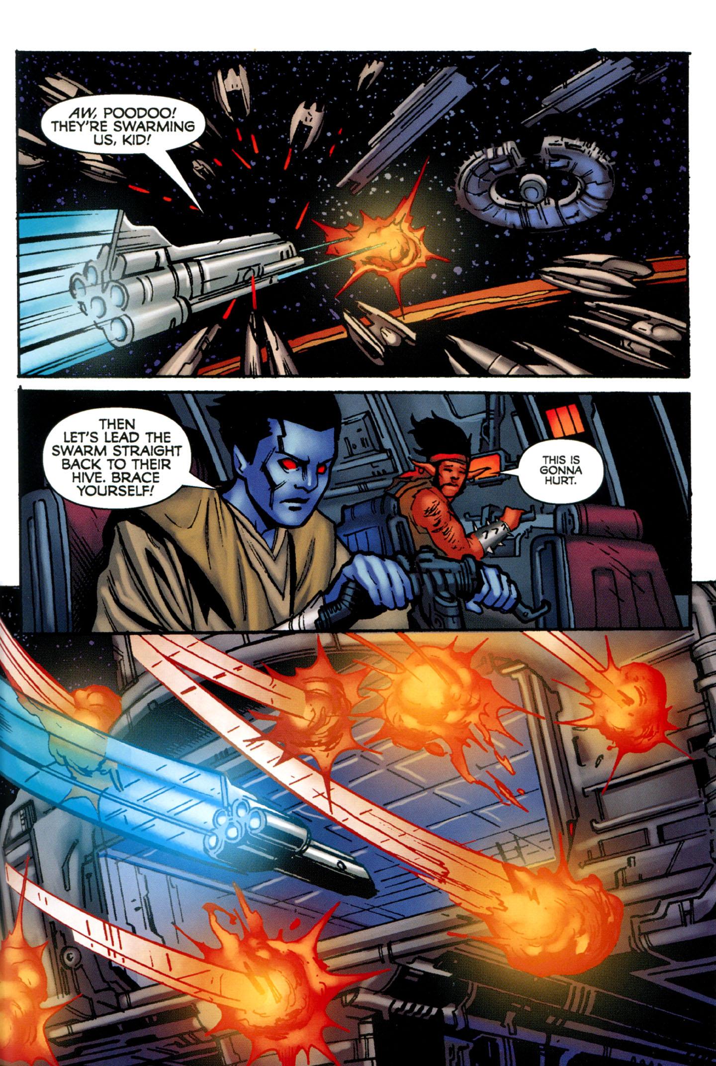 Read online Star Wars: The Clone Wars - Strange Allies comic -  Issue # Full - 44
