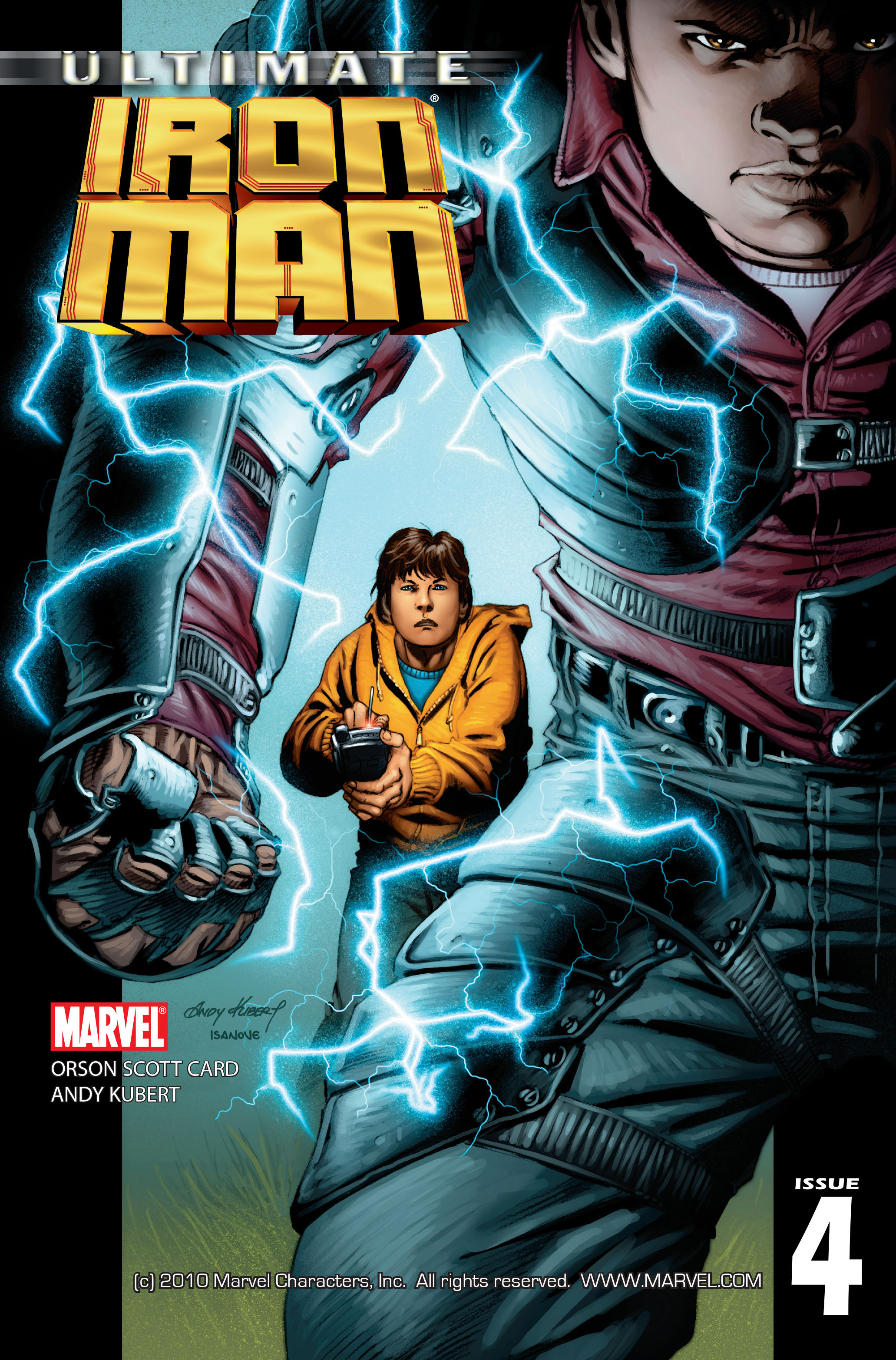 Read online Ultimate Iron Man (2005) comic -  Issue #4 - 1