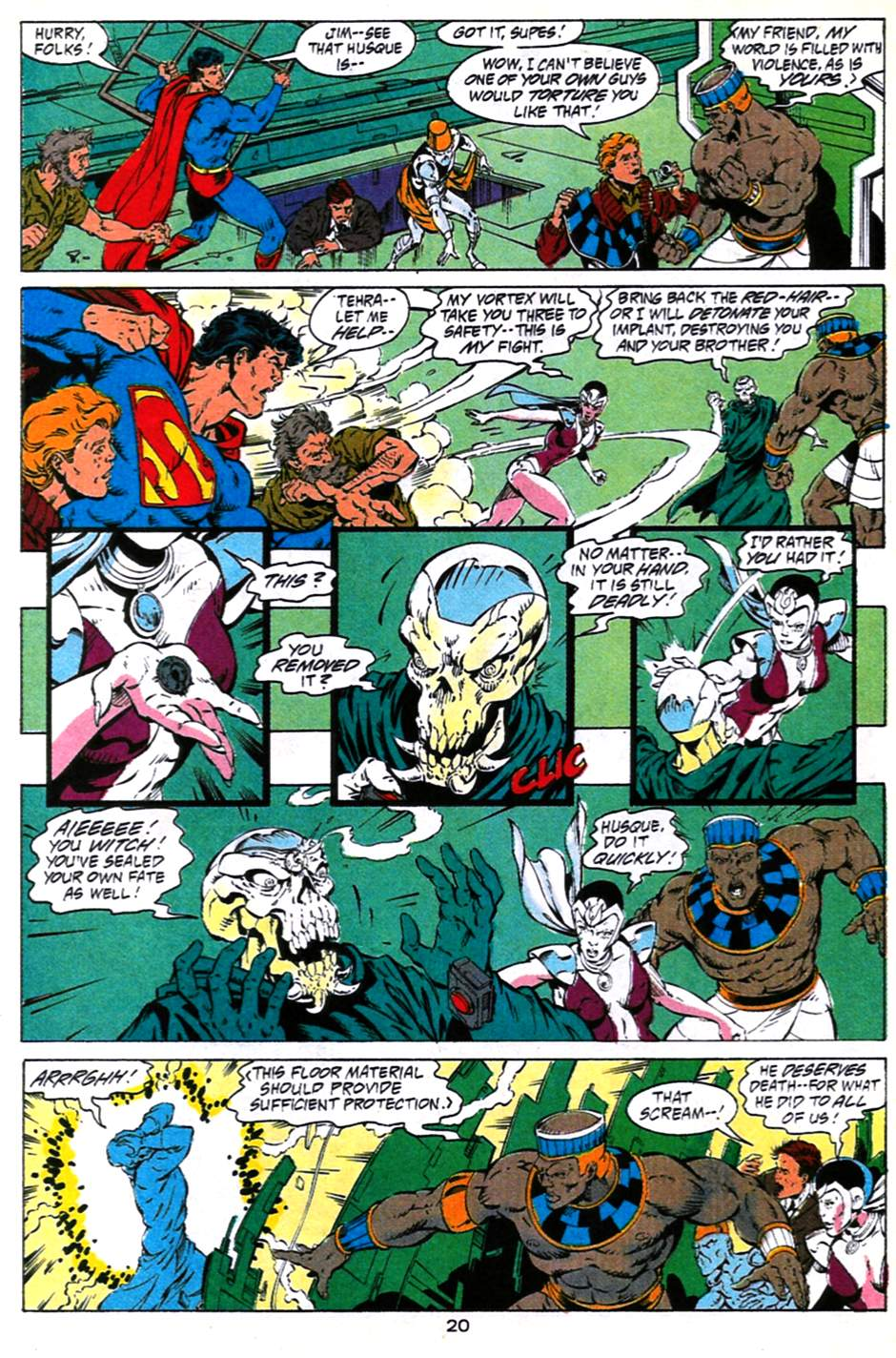 Read online Adventures of Superman (1987) comic -  Issue #490 - 21