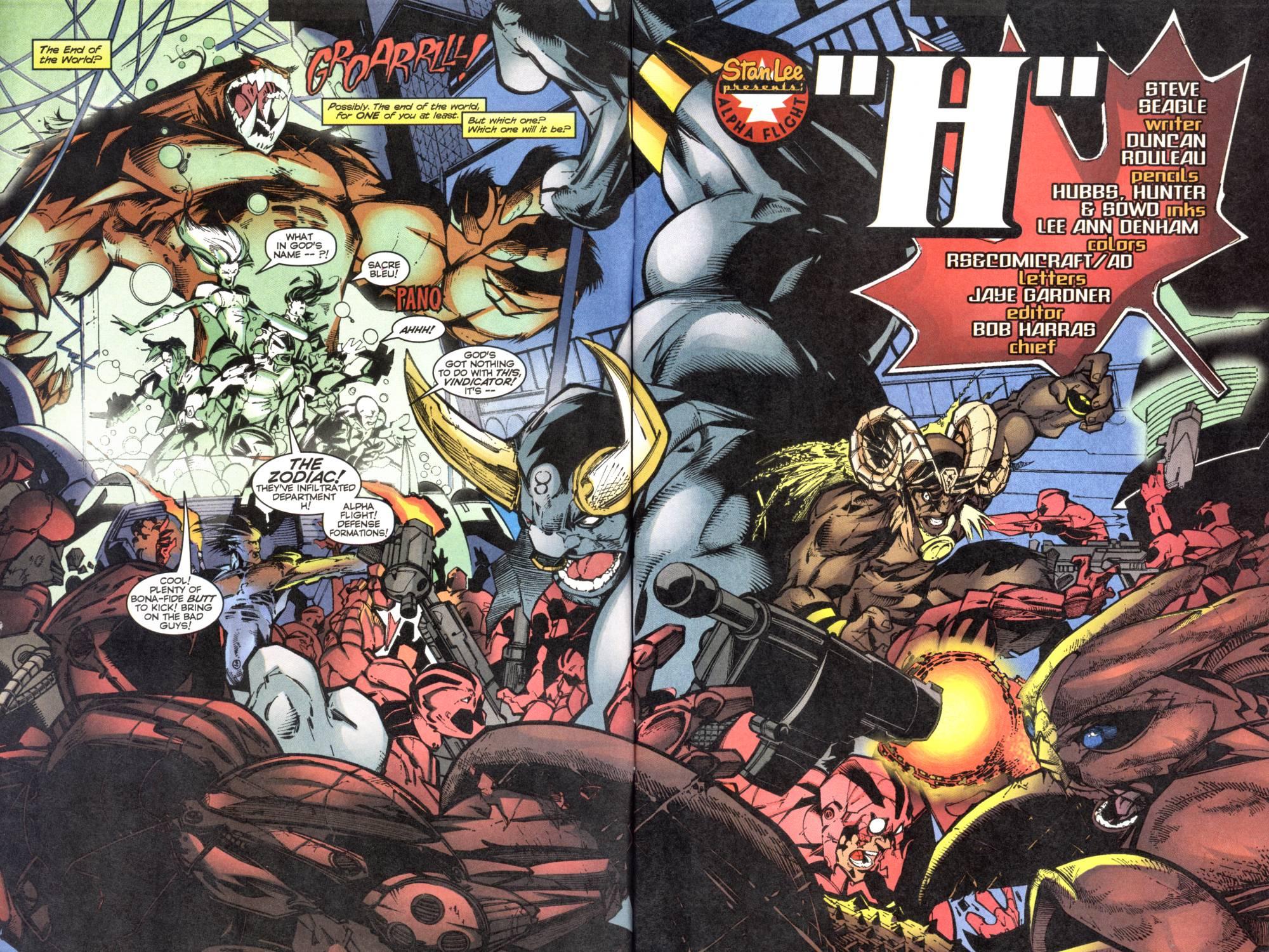 Read online Alpha Flight (1997) comic -  Issue #12 - 4