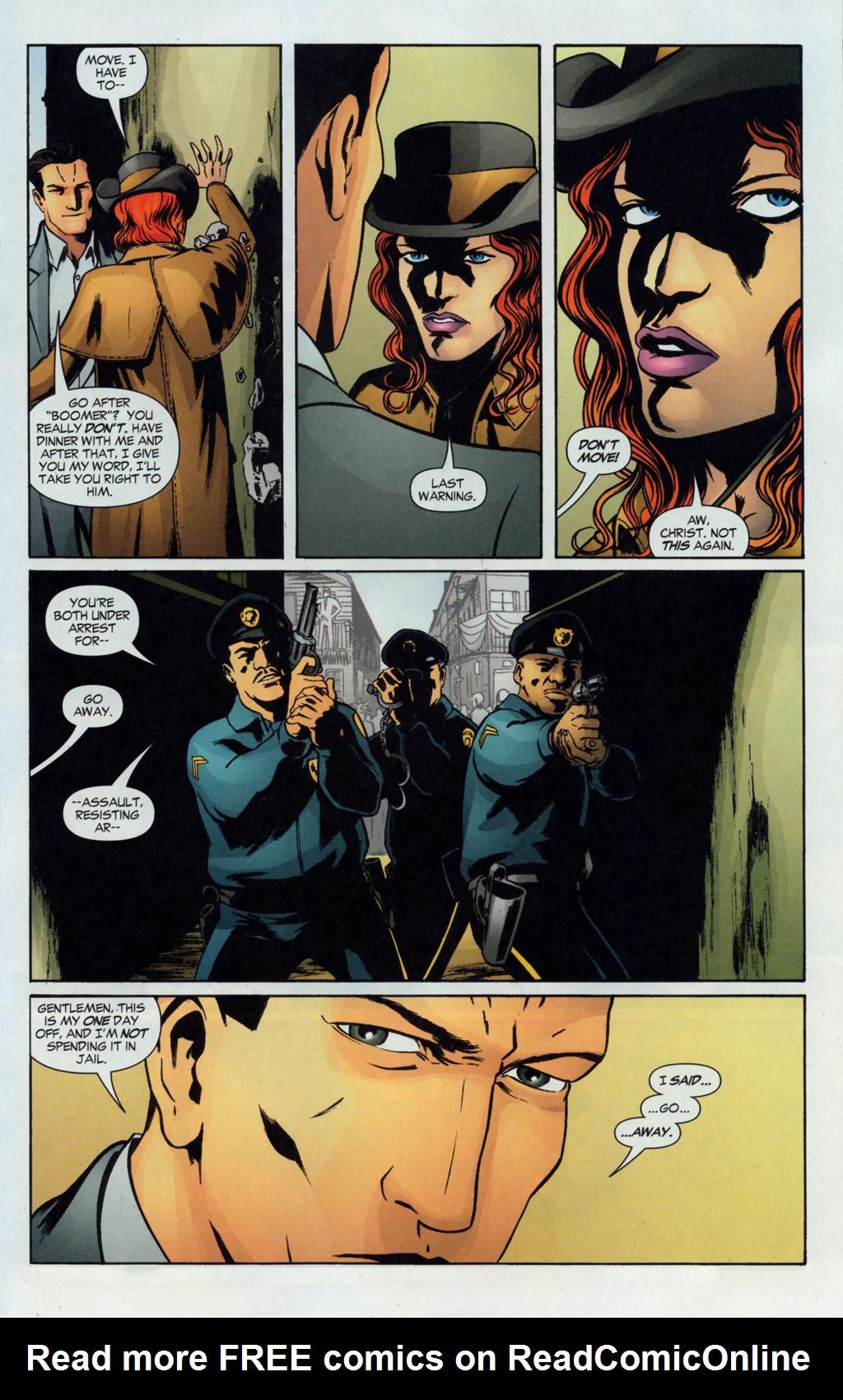 Read online Fallen Angel (2003) comic -  Issue #12 - 15