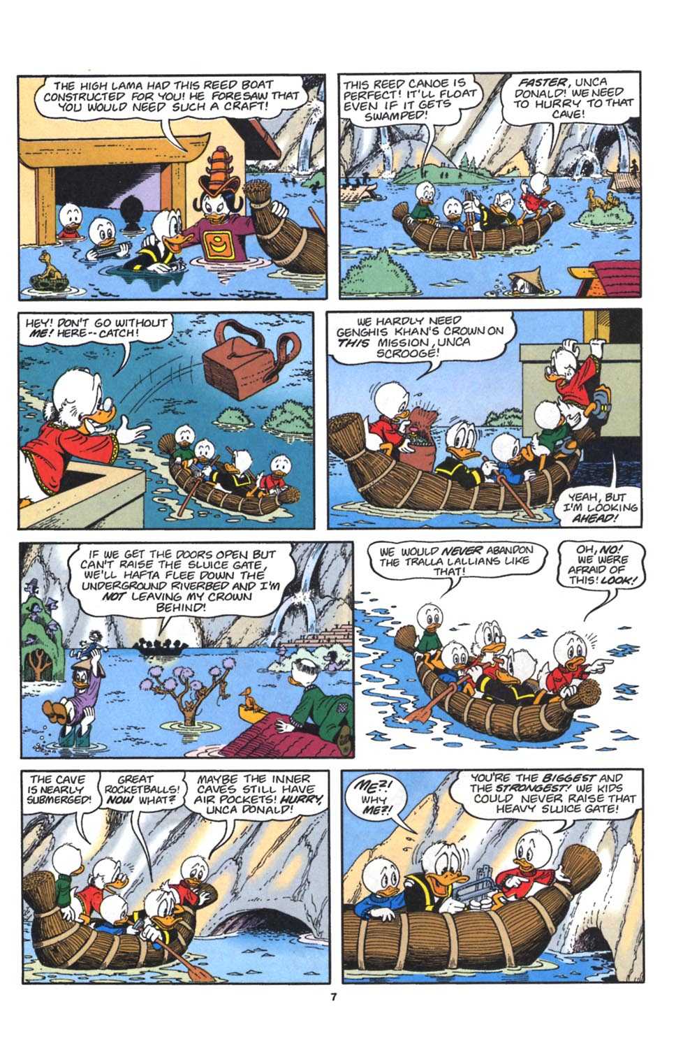 Read online Uncle Scrooge (1953) comic -  Issue #262 - 8