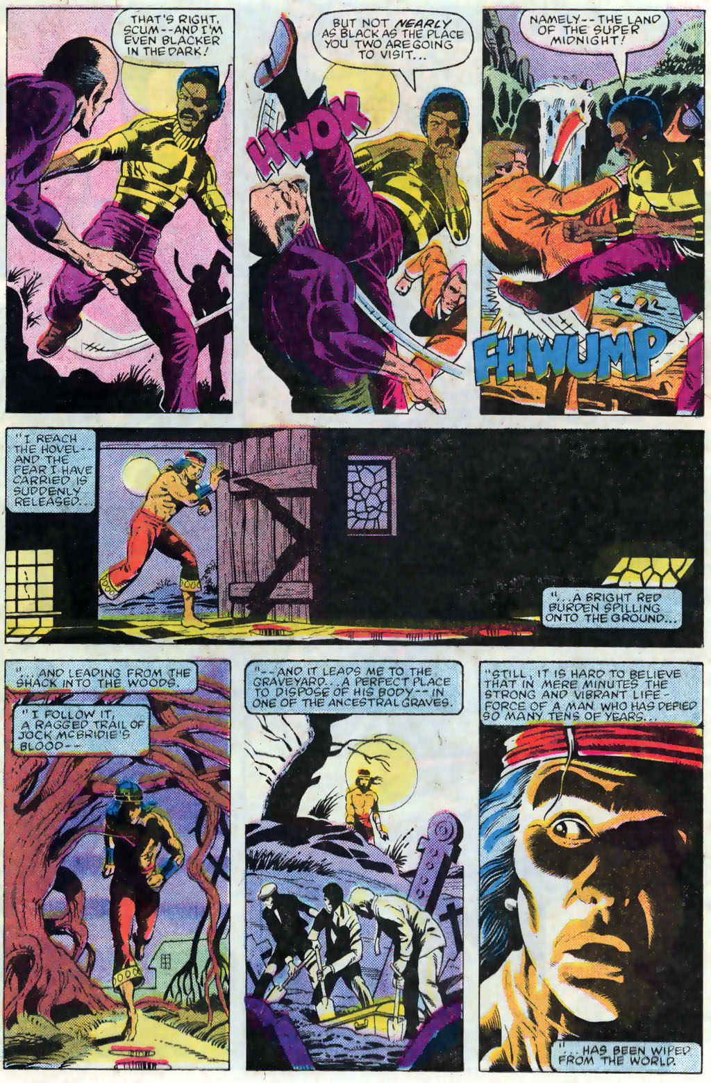 Read online Master of Kung Fu (1974) comic -  Issue #120 - 16