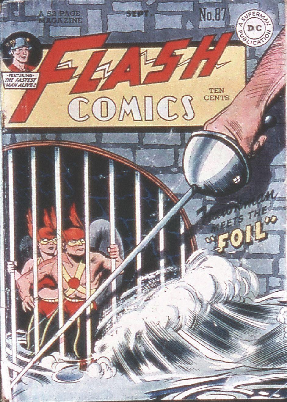 Flash Comics 87 Page 1