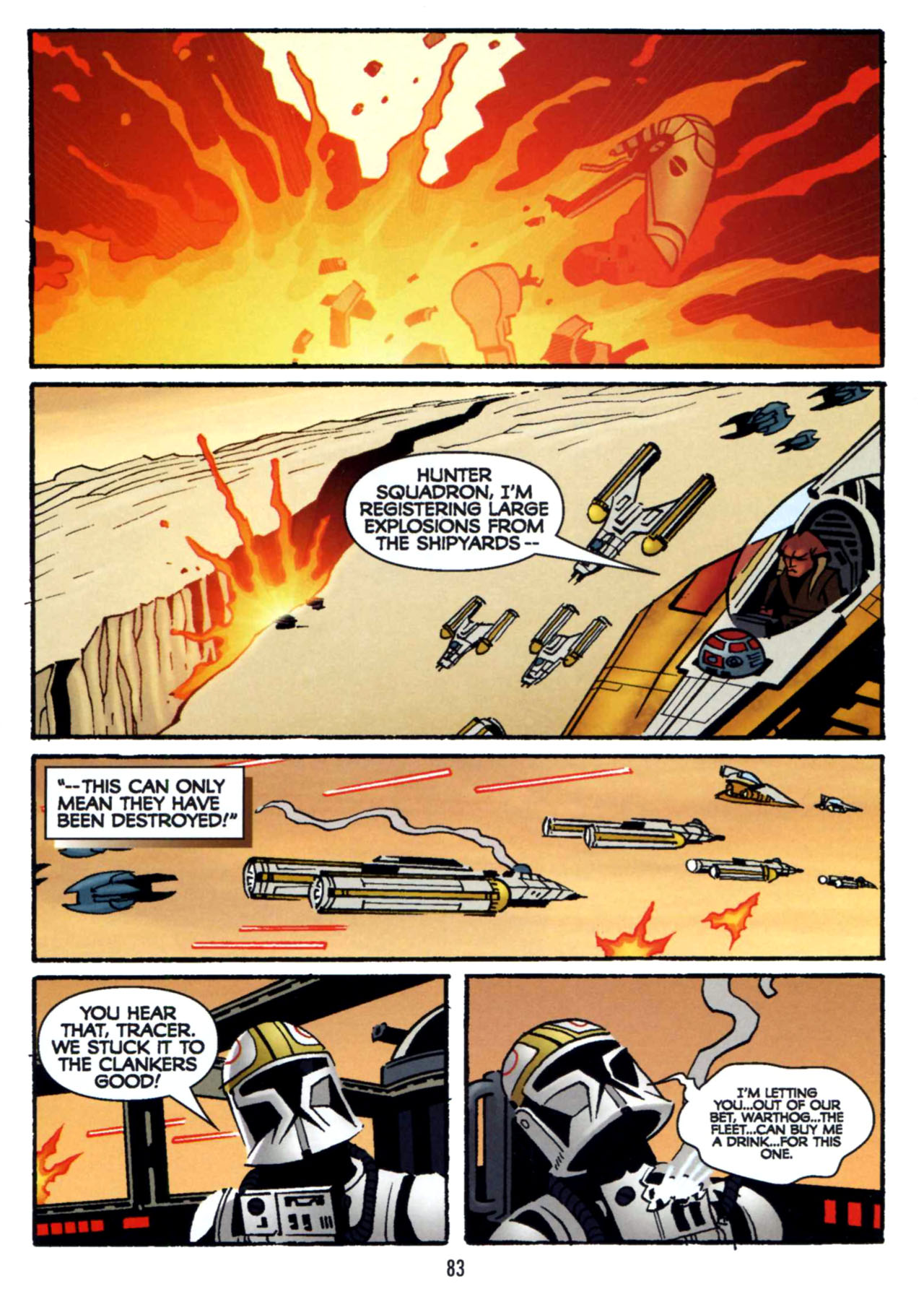 Read online Star Wars: The Clone Wars - Shipyards of Doom comic -  Issue # Full - 81