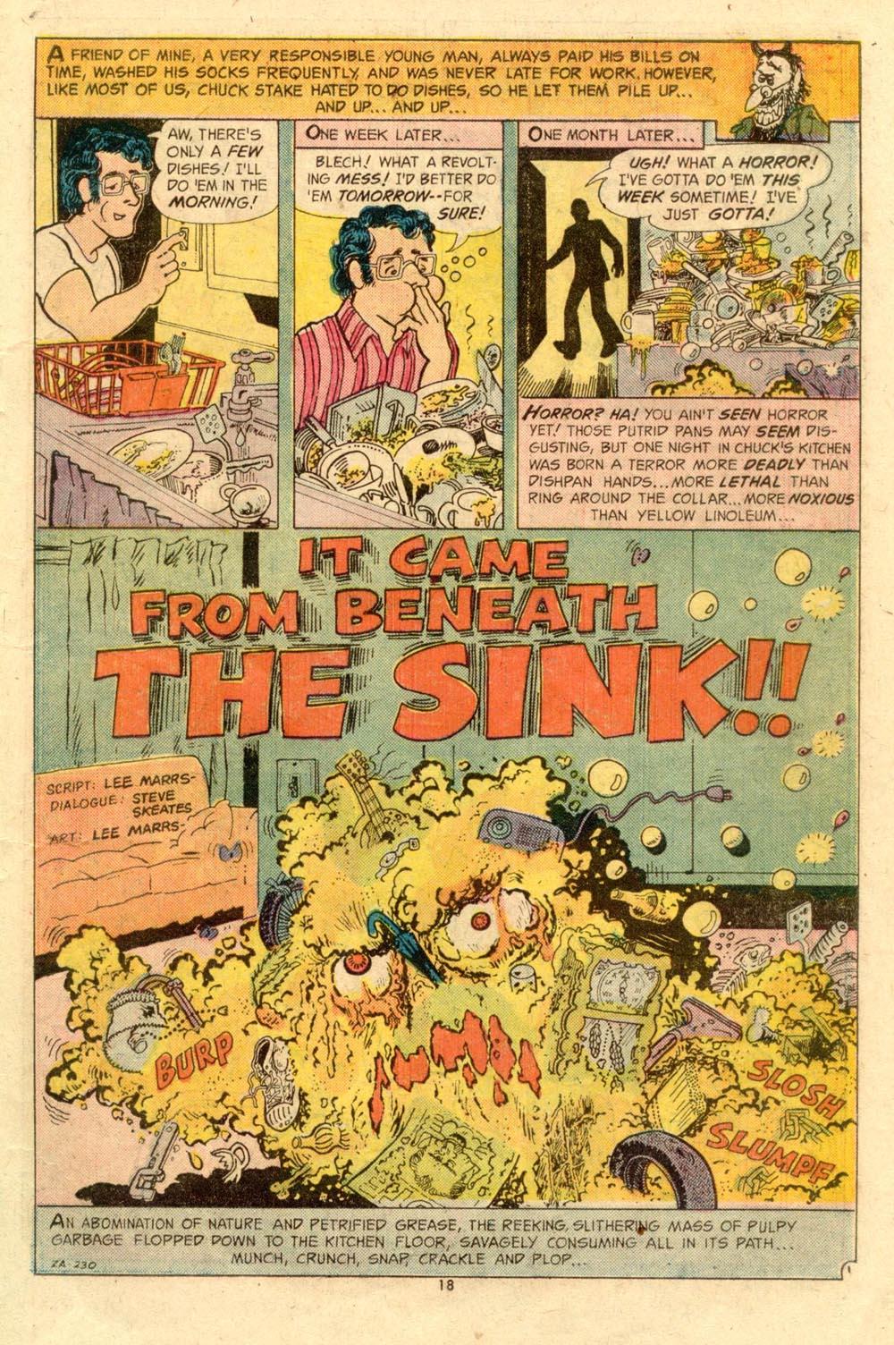 Read online Plop! comic -  Issue #7 - 19