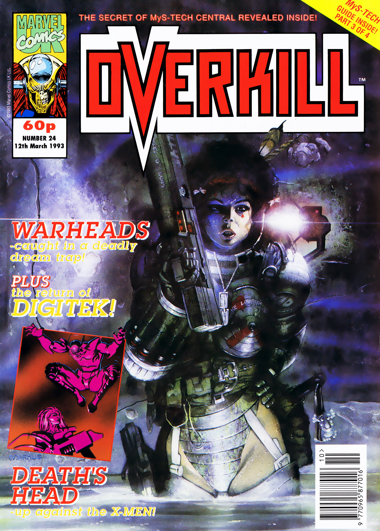 Read online Overkill comic -  Issue #24 - 1