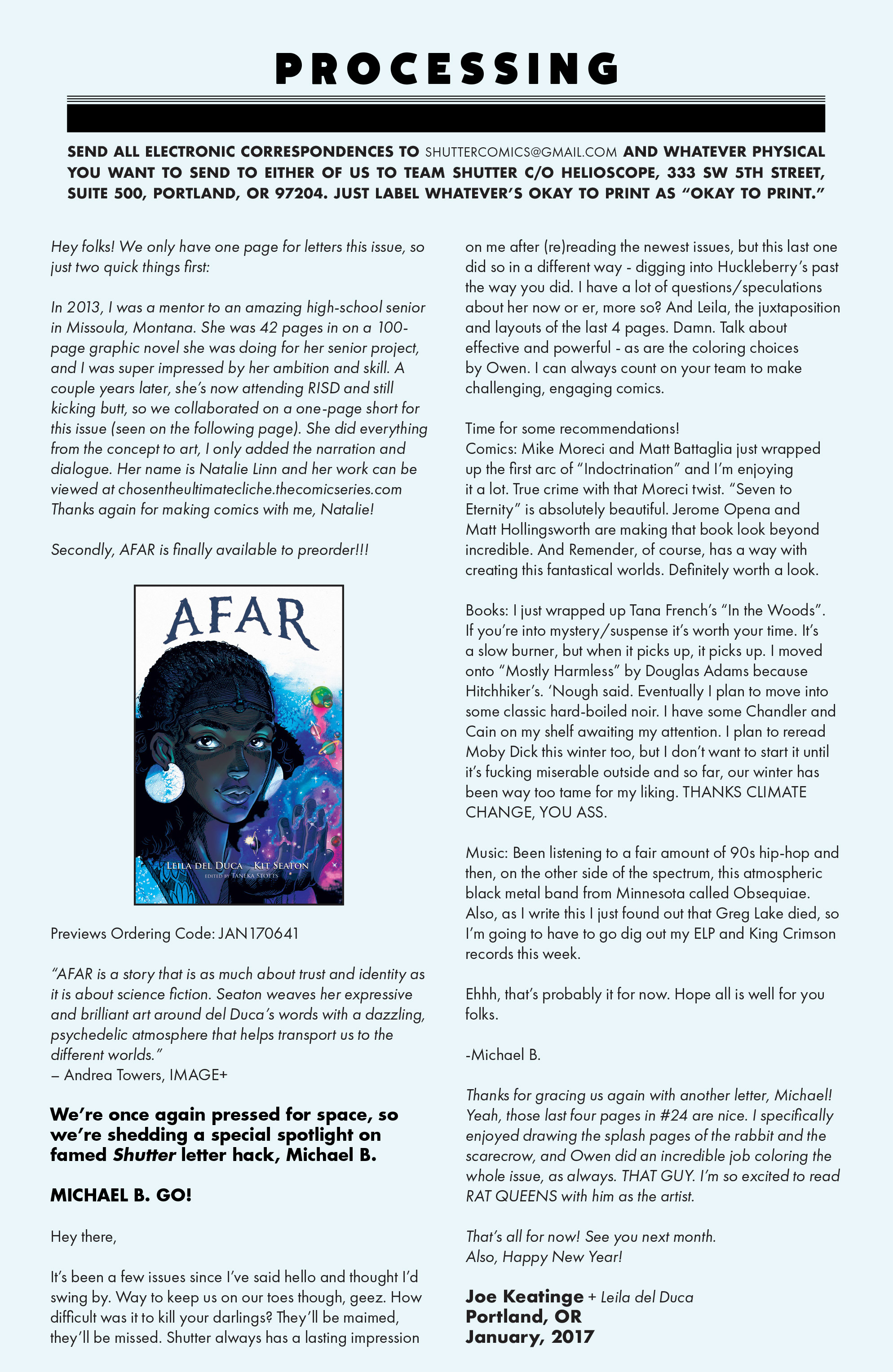 Read online Shutter comic -  Issue #26 - 22