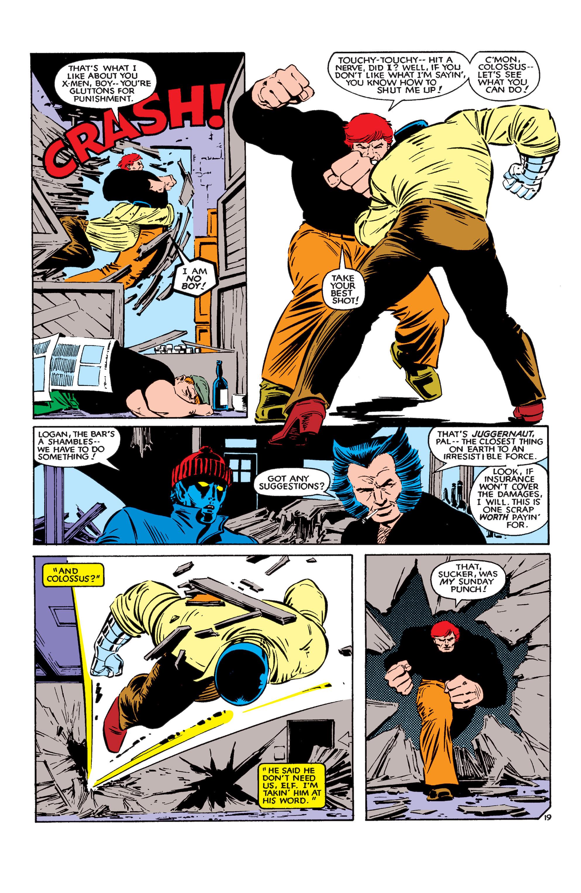 Read online Uncanny X-Men (1963) comic -  Issue #183 - 20