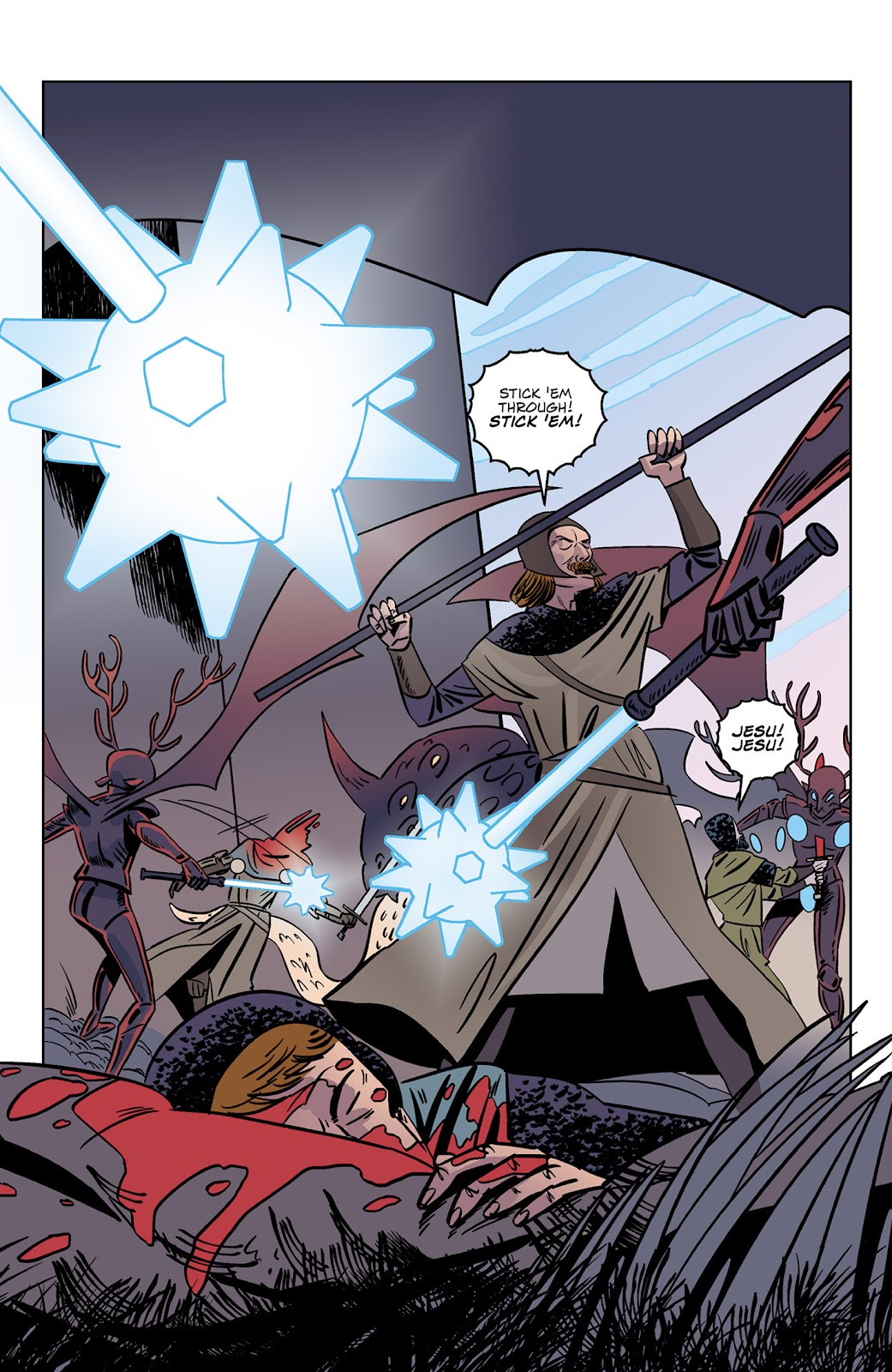 Read online Dark Ages comic -  Issue #3 - 10