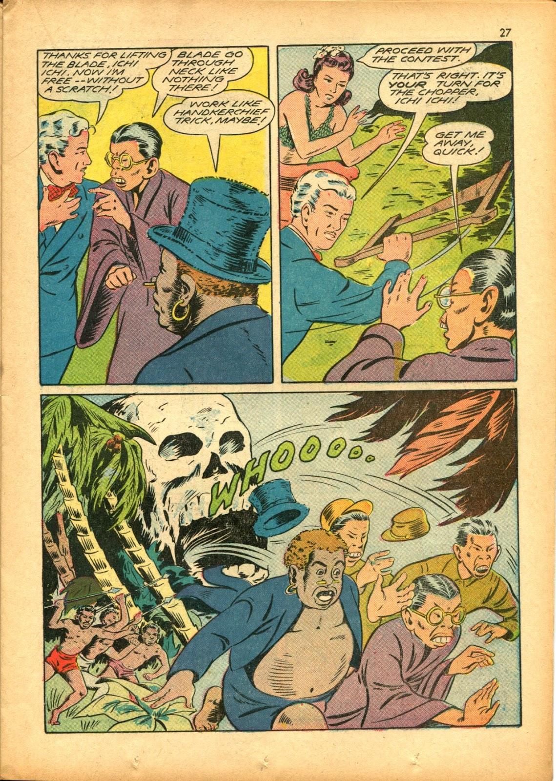 Read online Super-Magician Comics comic -  Issue #15 - 27