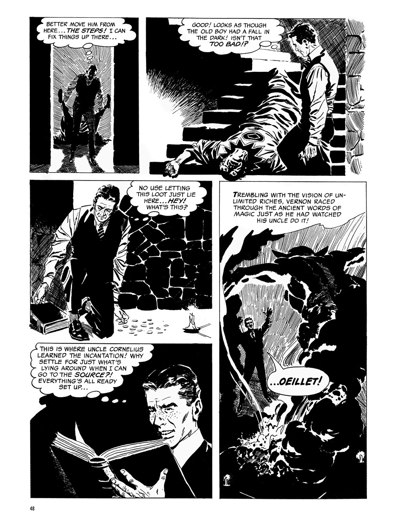 Read online Eerie Archives comic -  Issue # TPB 1 - 49