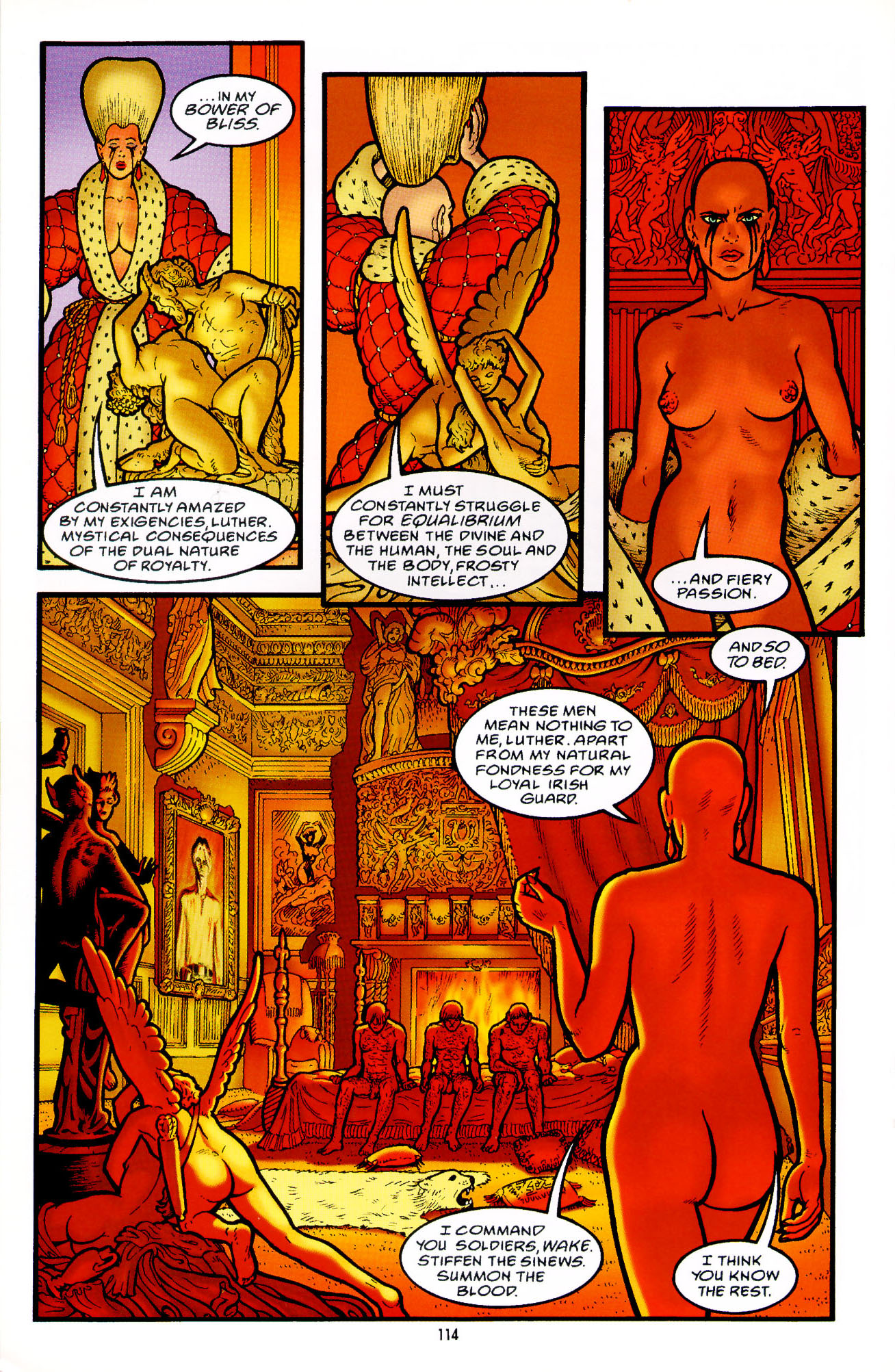 Read online Heart of Empire comic -  Issue #4 - 18