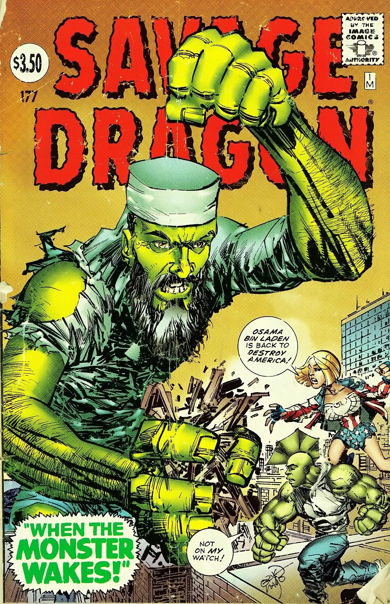 The Savage Dragon (1993) 177 Page 1