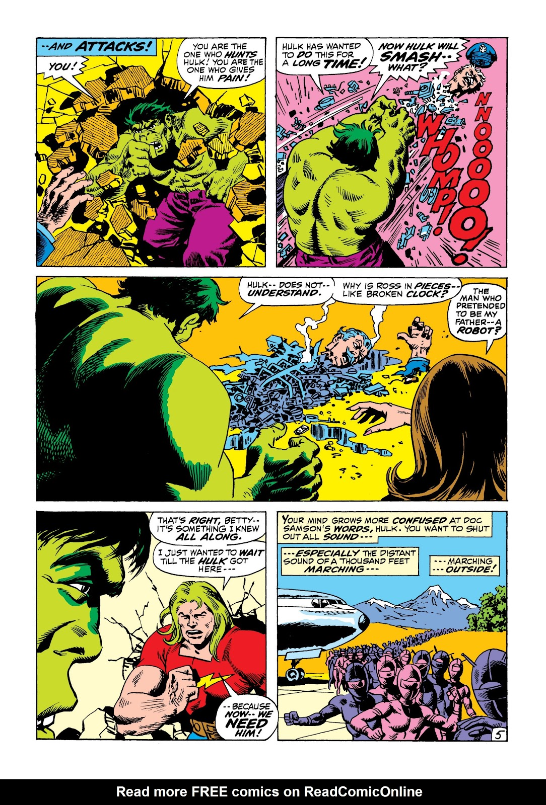 Read online Marvel Masterworks: The Incredible Hulk comic -  Issue # TPB 8 (Part 1) - 68