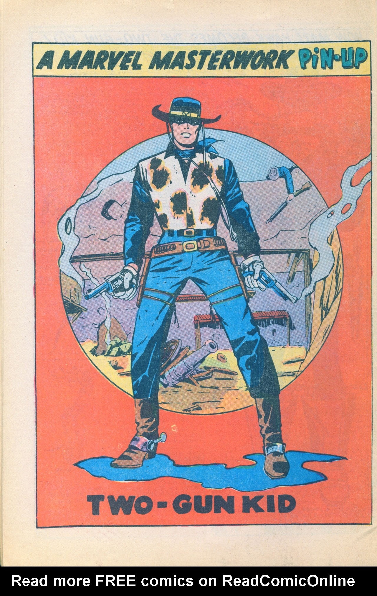 Read online Two-Gun Kid comic -  Issue #116 - 34