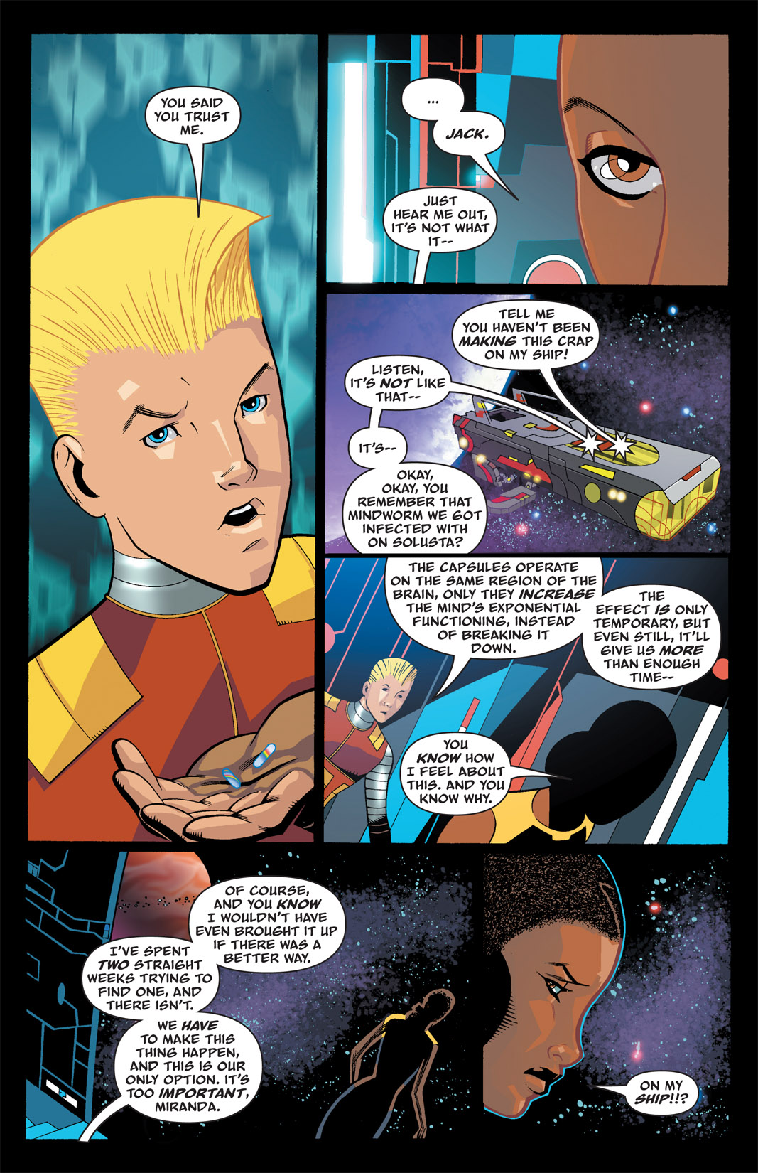 Read online The Many Adventures of Miranda Mercury: Time Runs Out comic -  Issue # TPB - 27