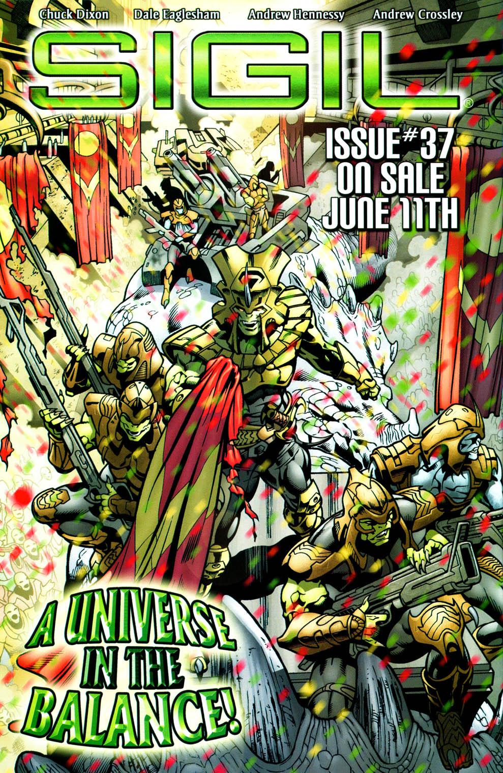 Read online Sigil (2000) comic -  Issue #36 - 24