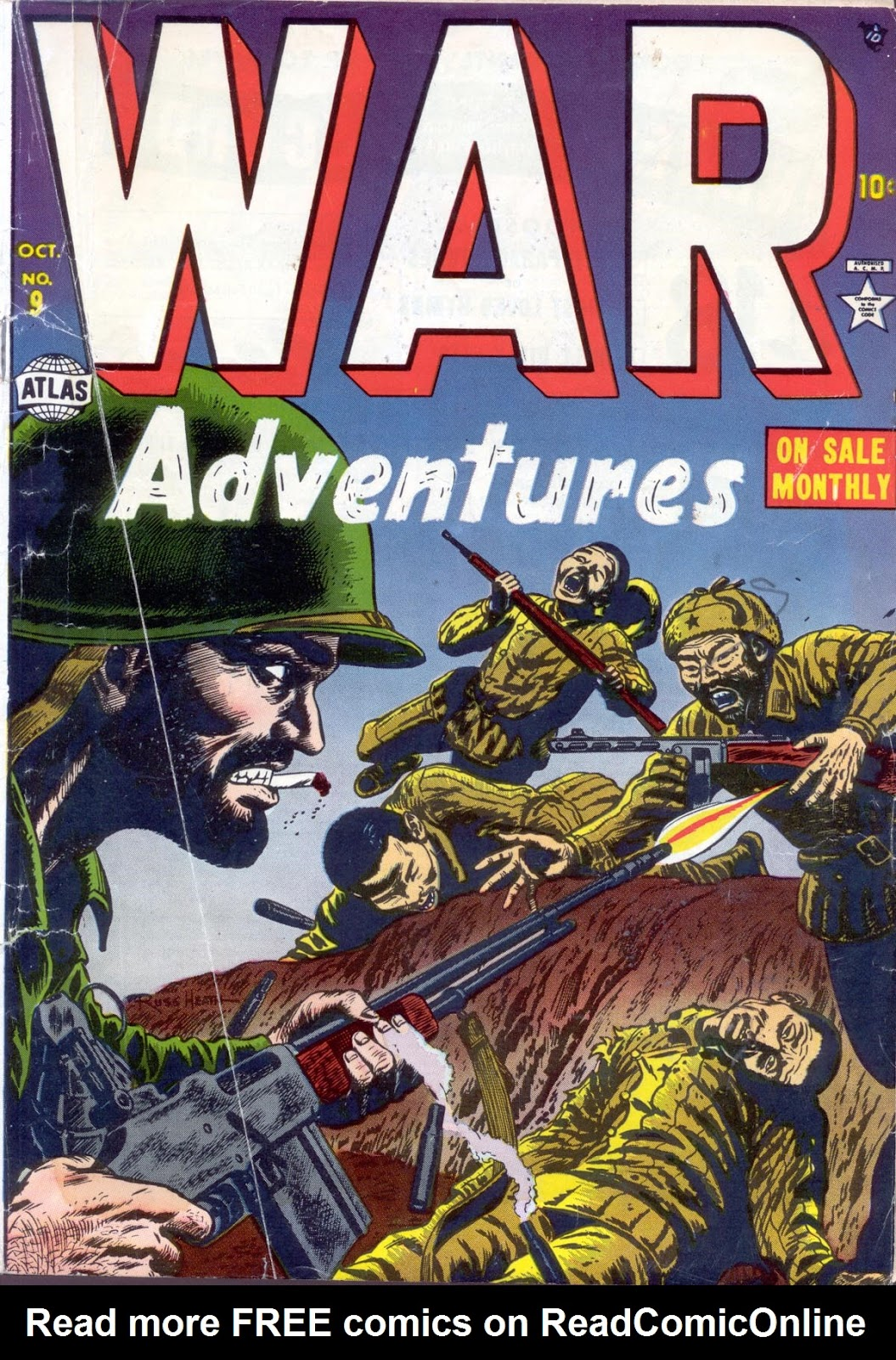 War Adventures 9 Page 1