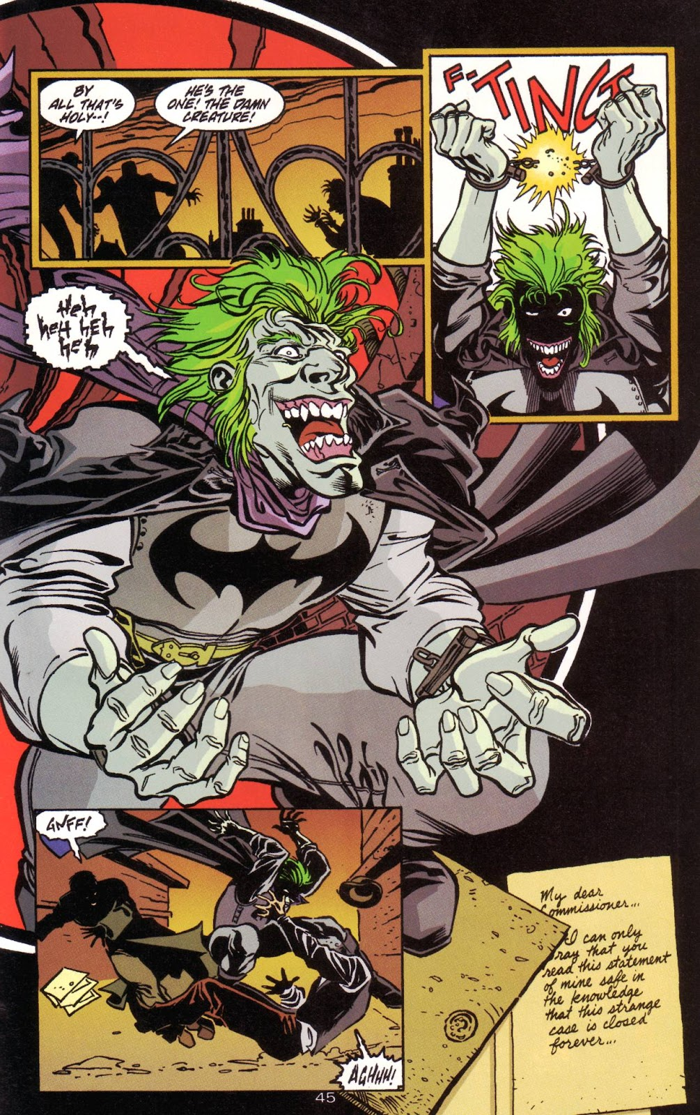 Batman: Two Faces issue Full - Page 46
