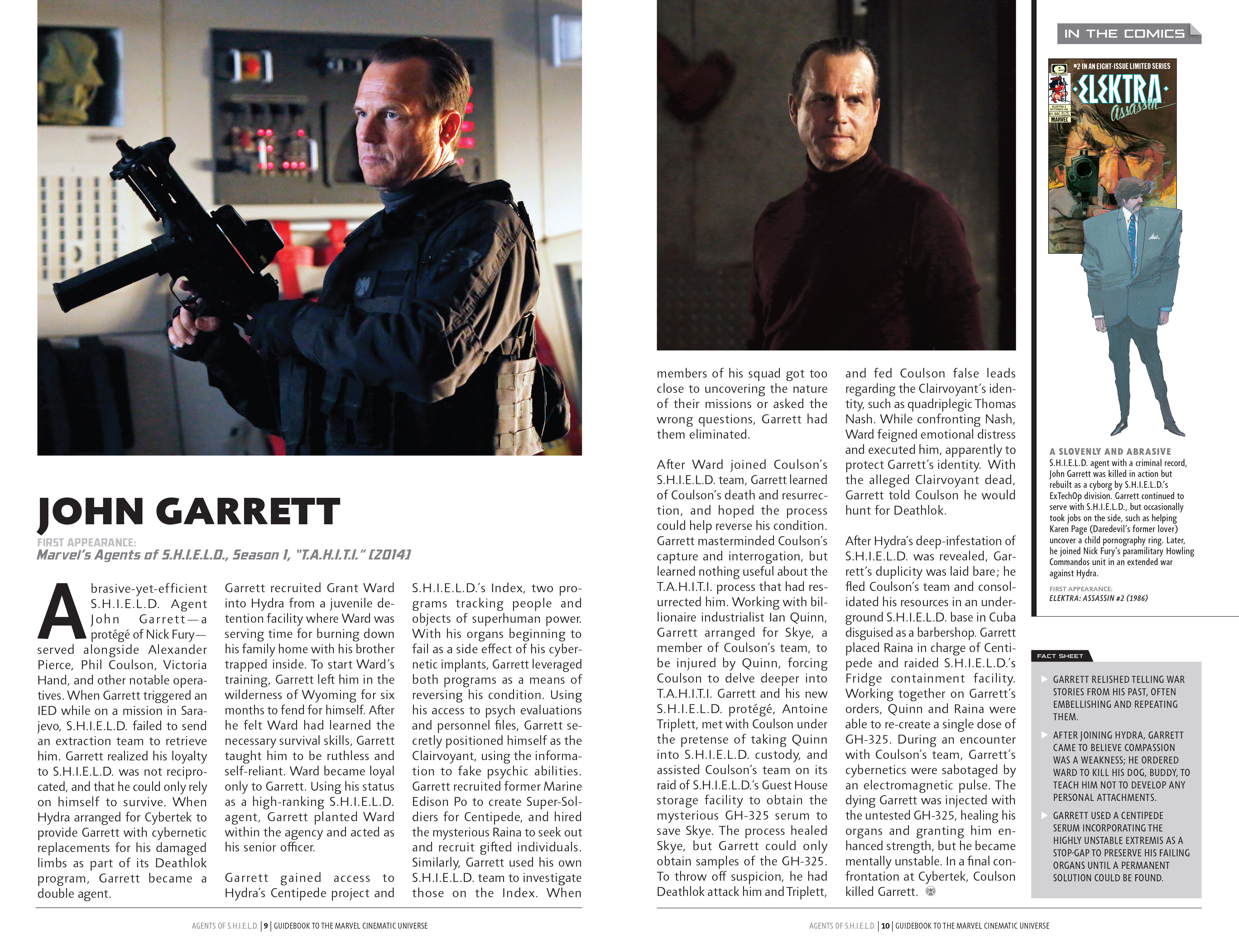Read online Guidebook to the Marvel Cinematic Universe - Marvel's Agents of S.H.I.E.L.D. Season One comic -  Issue # Full - 8