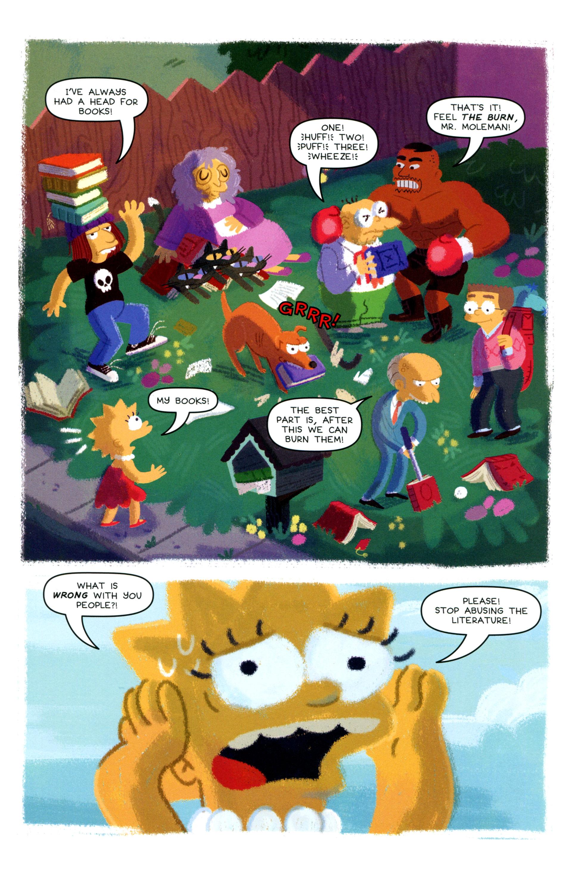 Read online Simpsons One-Shot Wonders: Lisa comic -  Issue # Full - 25