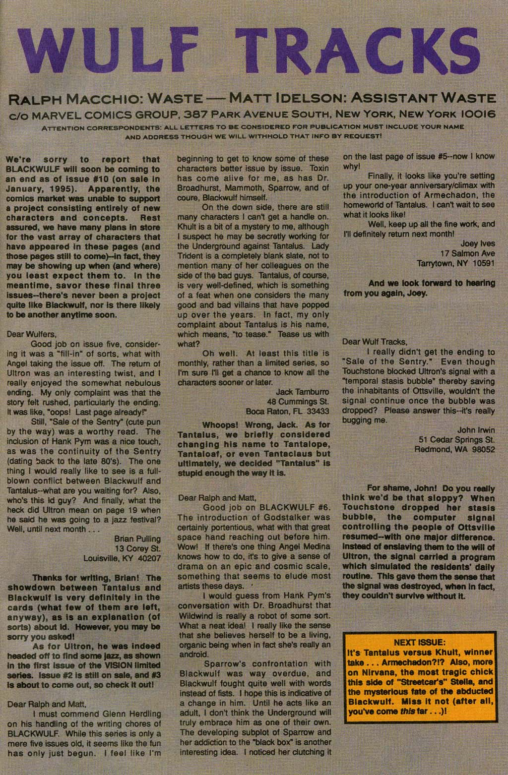 Read online Blackwulf comic -  Issue #8 - 23