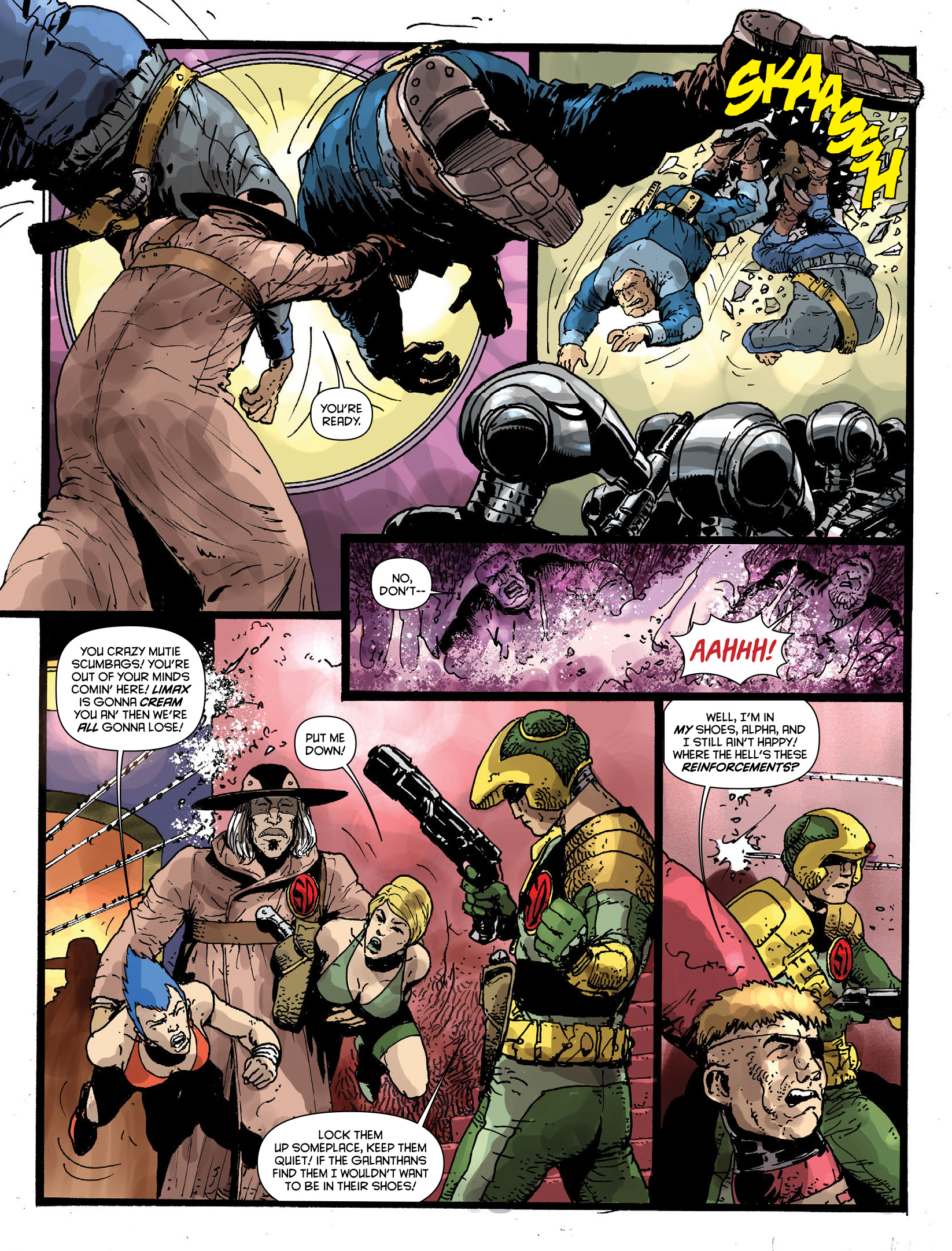 Read online 2000 AD comic -  Issue #1970 - 28