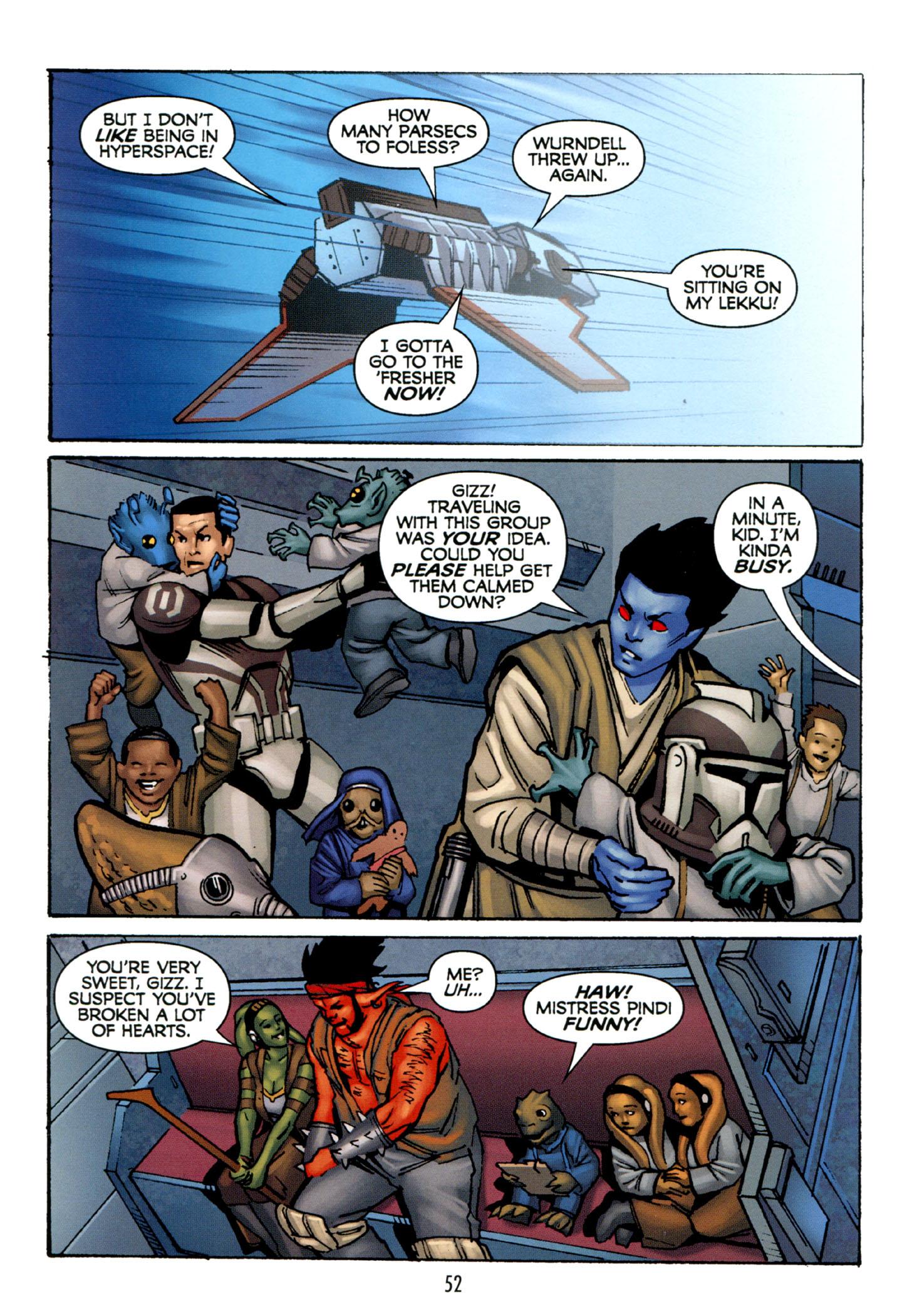 Read online Star Wars: The Clone Wars - Strange Allies comic -  Issue # Full - 53